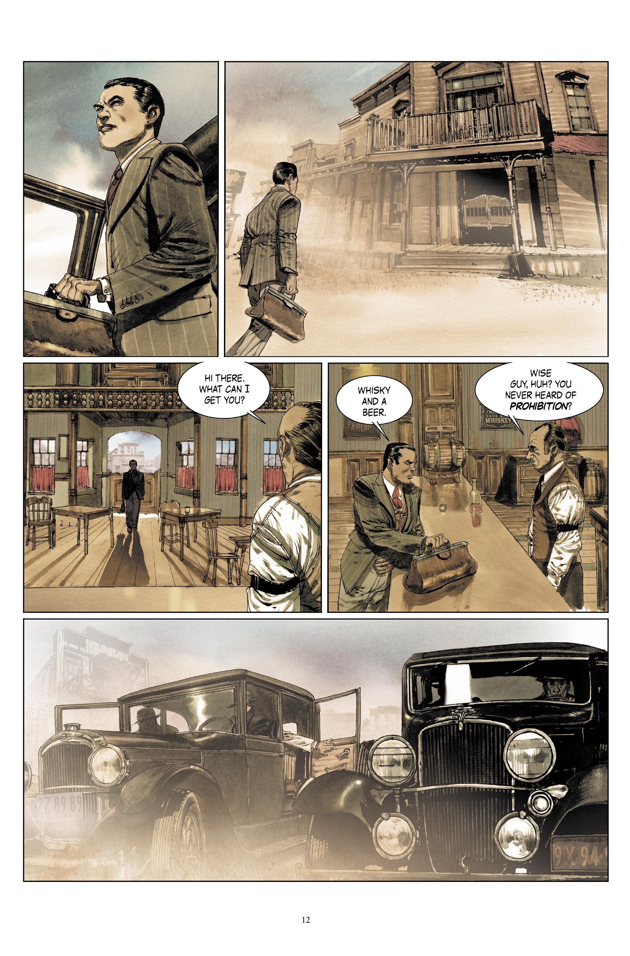 Read online Triggerman comic -  Issue #5 - 12