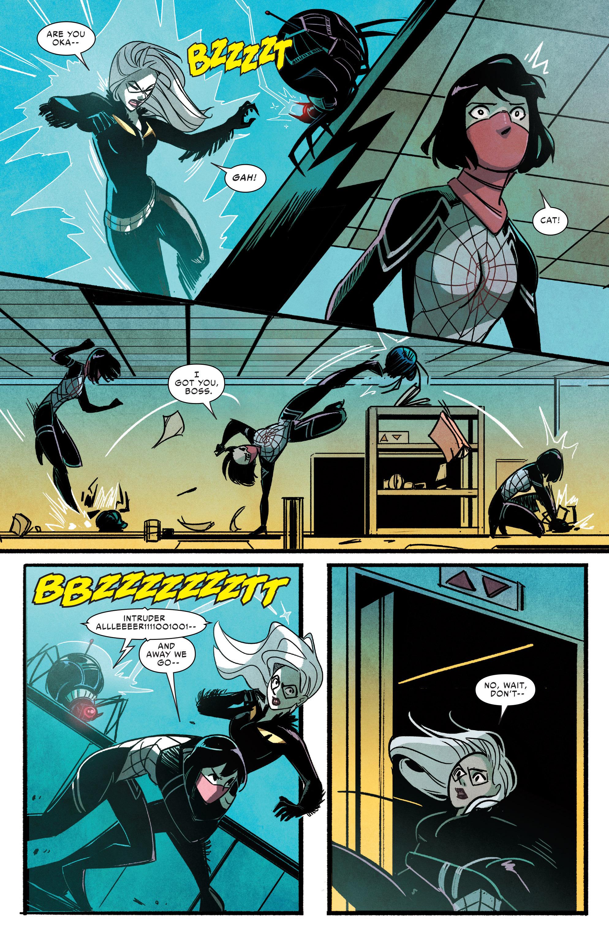 Read online Silk (2016) comic -  Issue #9 - 8