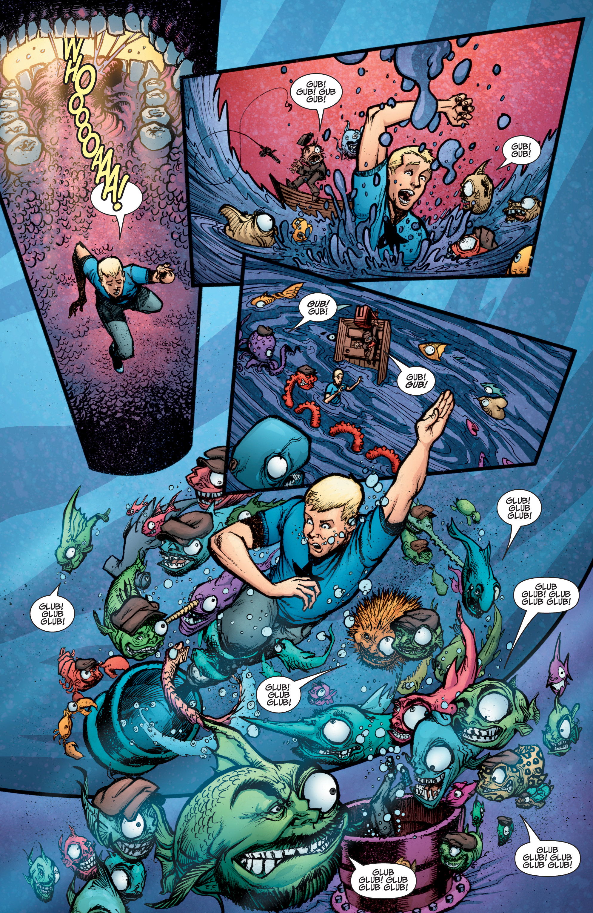 Read online A&A: The Adventures of Archer & Armstrong comic -  Issue #10 - 16