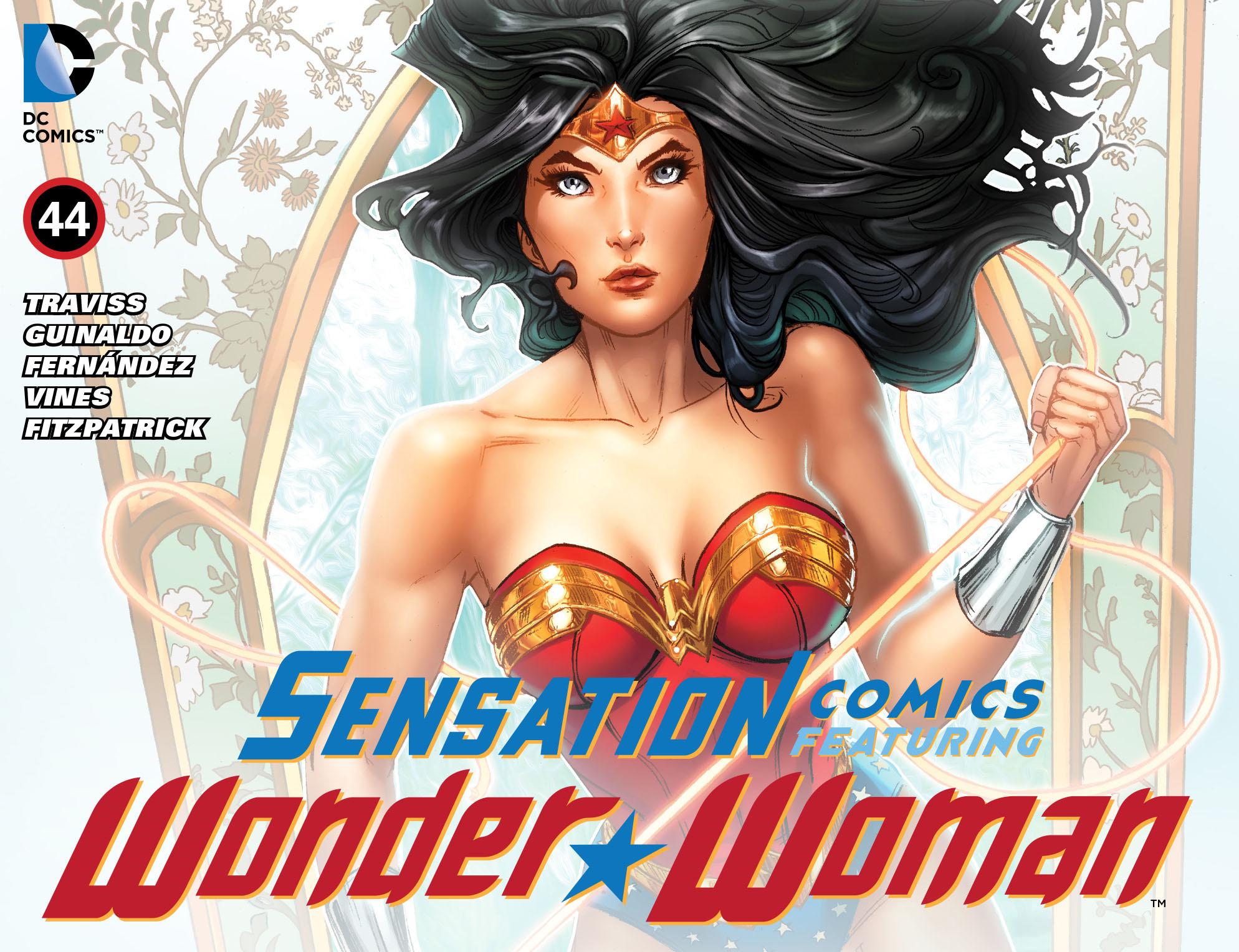 Read online Sensation Comics Featuring Wonder Woman comic -  Issue #44 - 1