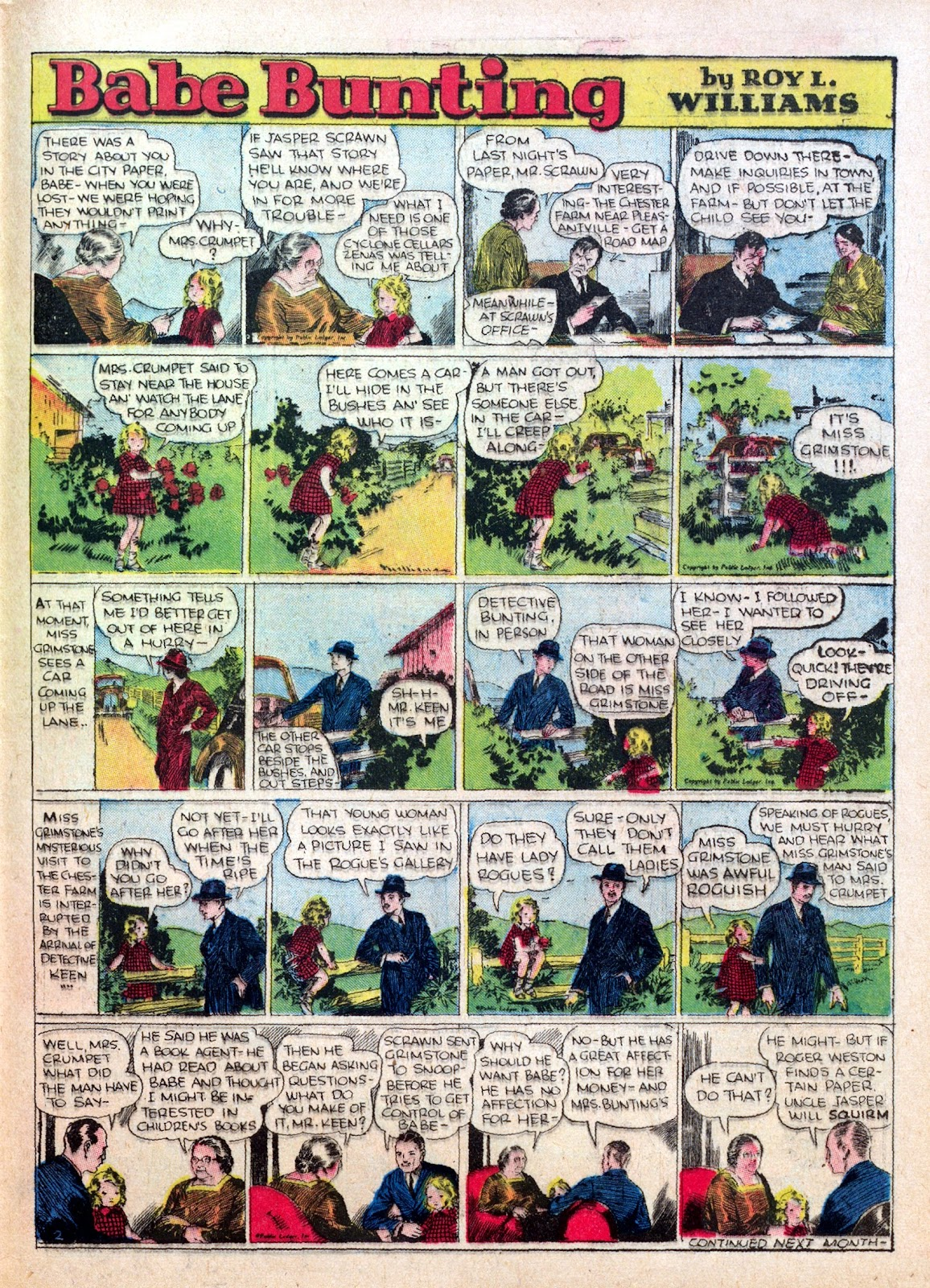 Read online Famous Funnies comic -  Issue #25 - 49