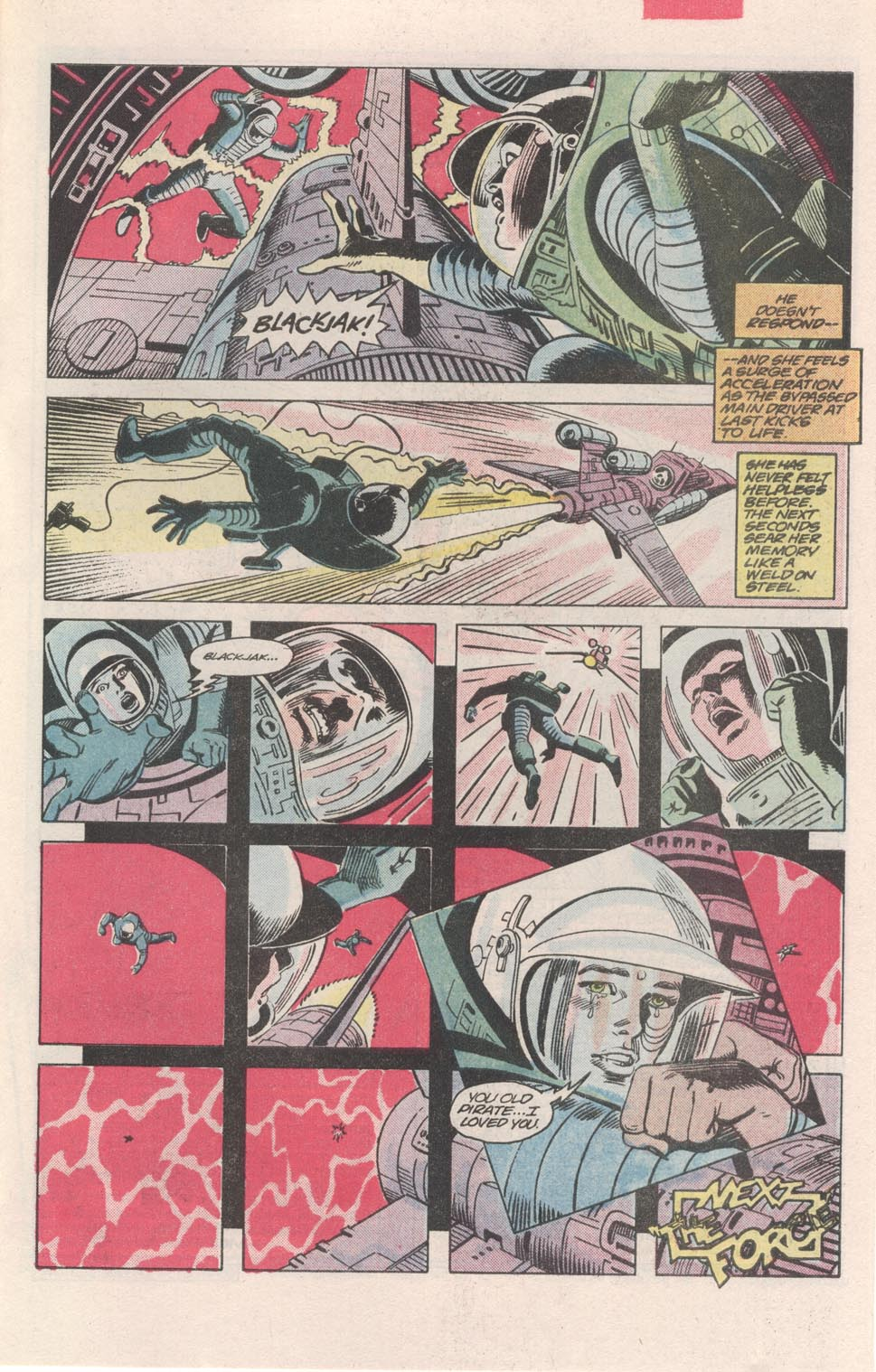 Read online Atari Force (1984) comic -  Issue #3 - 21