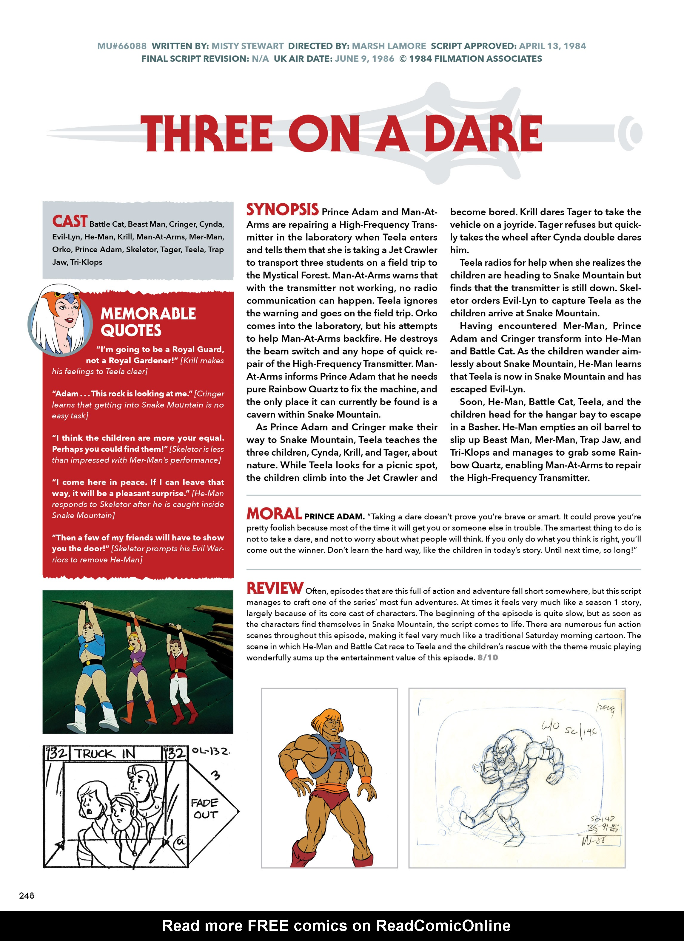 Read online He-Man and She-Ra: A Complete Guide to the Classic Animated Adventures comic -  Issue # TPB (Part 2) - 49