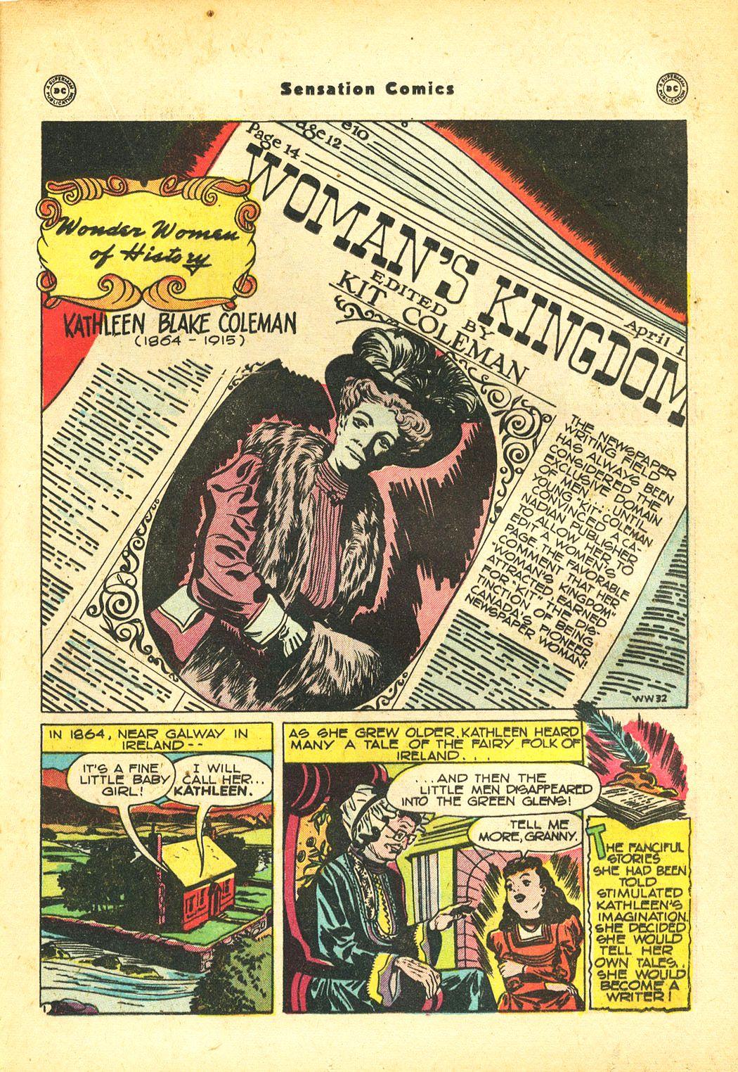 Read online Sensation (Mystery) Comics comic -  Issue #86 - 31