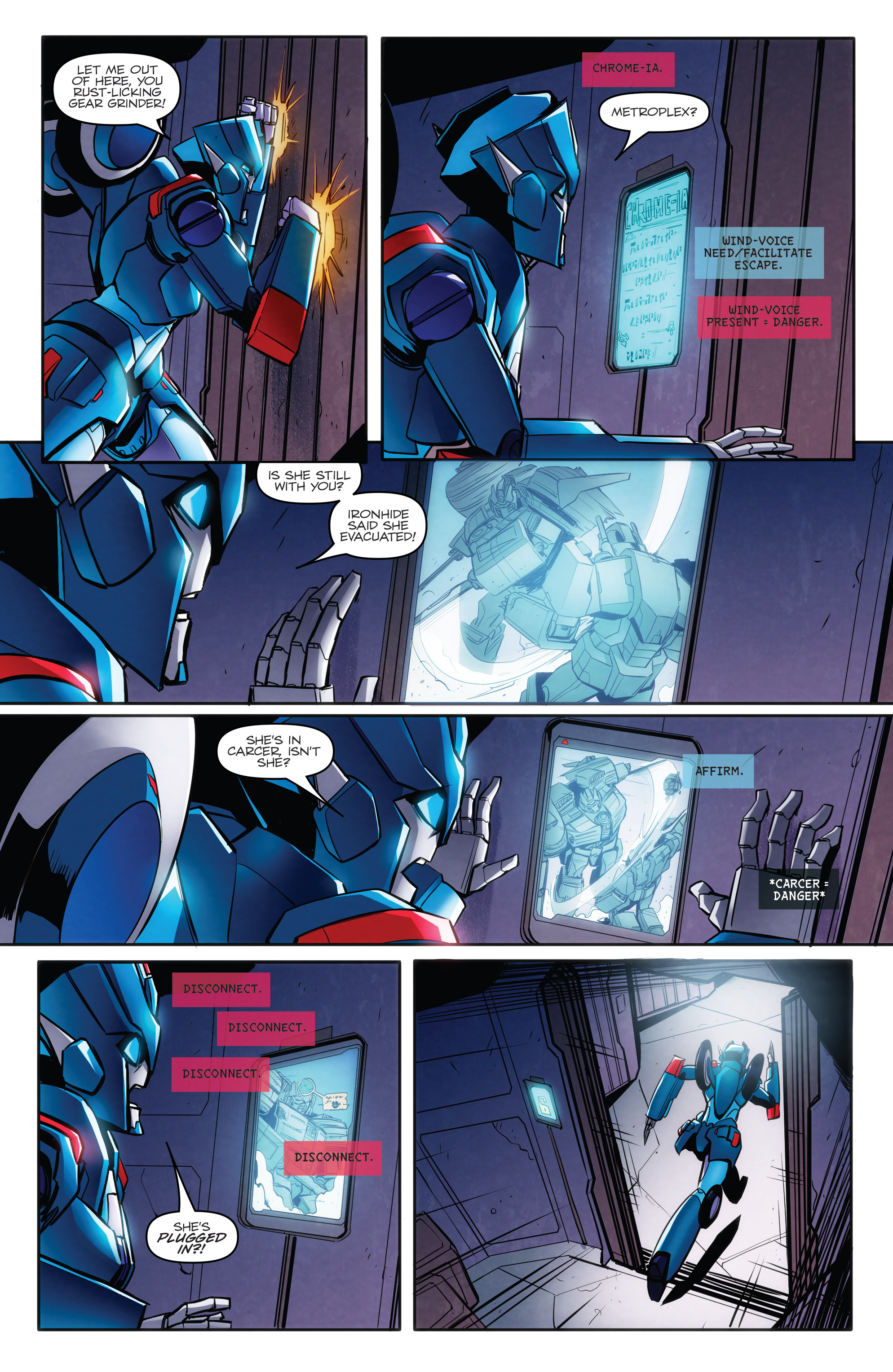 Read online Transformers: Till All Are One comic -  Issue #8 - 13