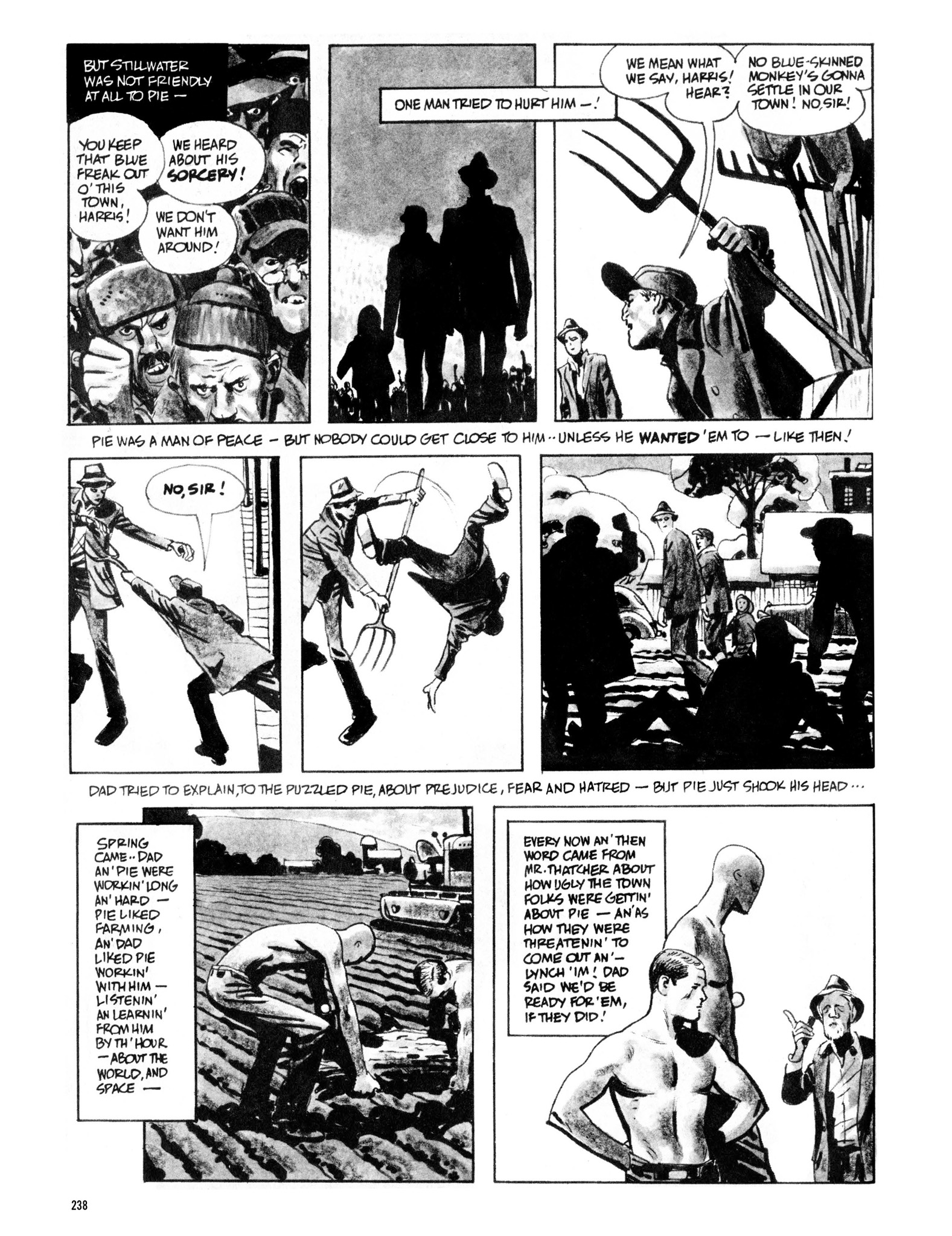 Read online Eerie Archives comic -  Issue # TPB 13 - 239
