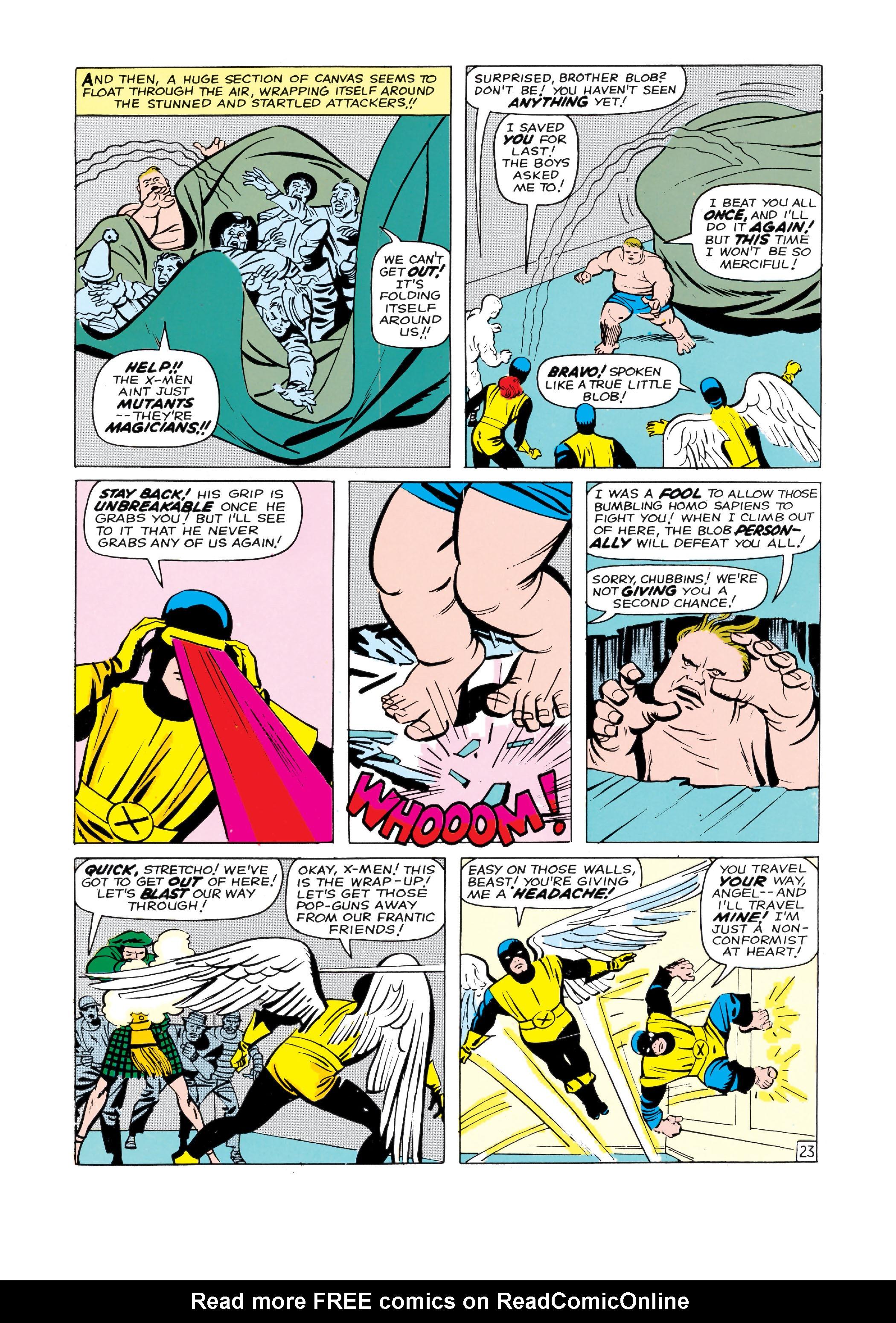 Read online Uncanny X-Men (1963) comic -  Issue #3 - 24