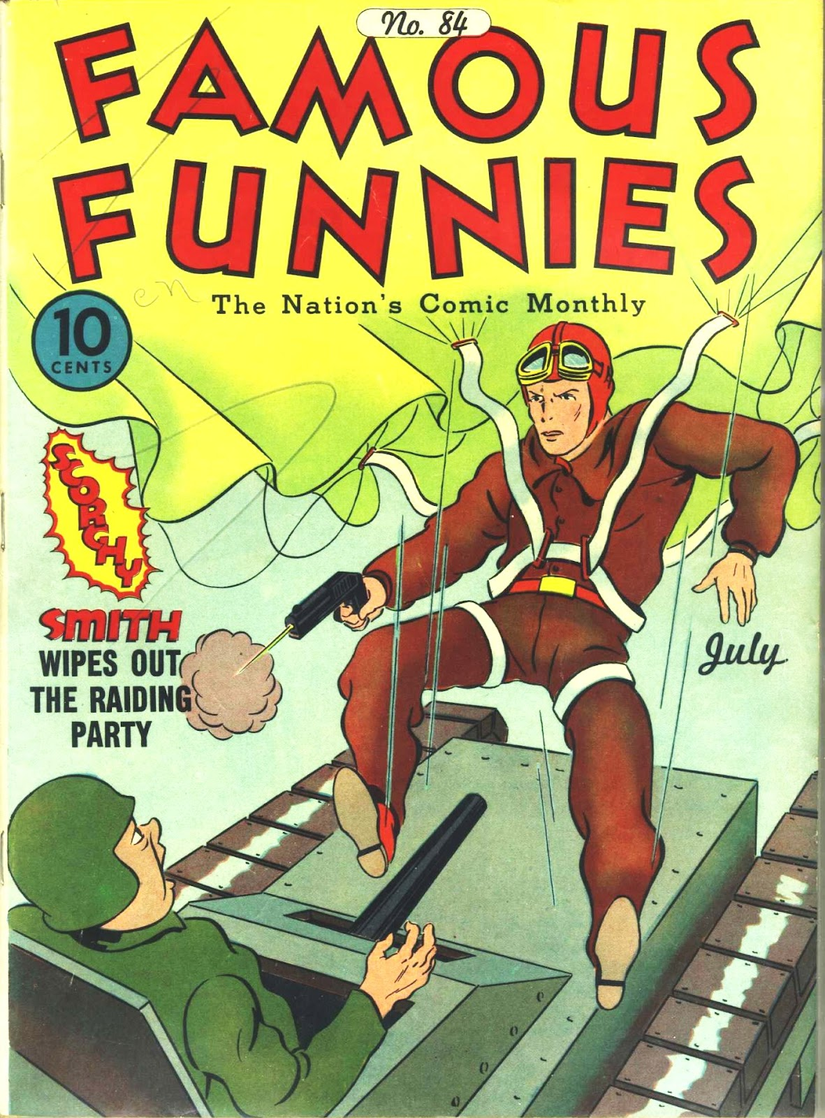 Read online Famous Funnies comic -  Issue #84 - 1