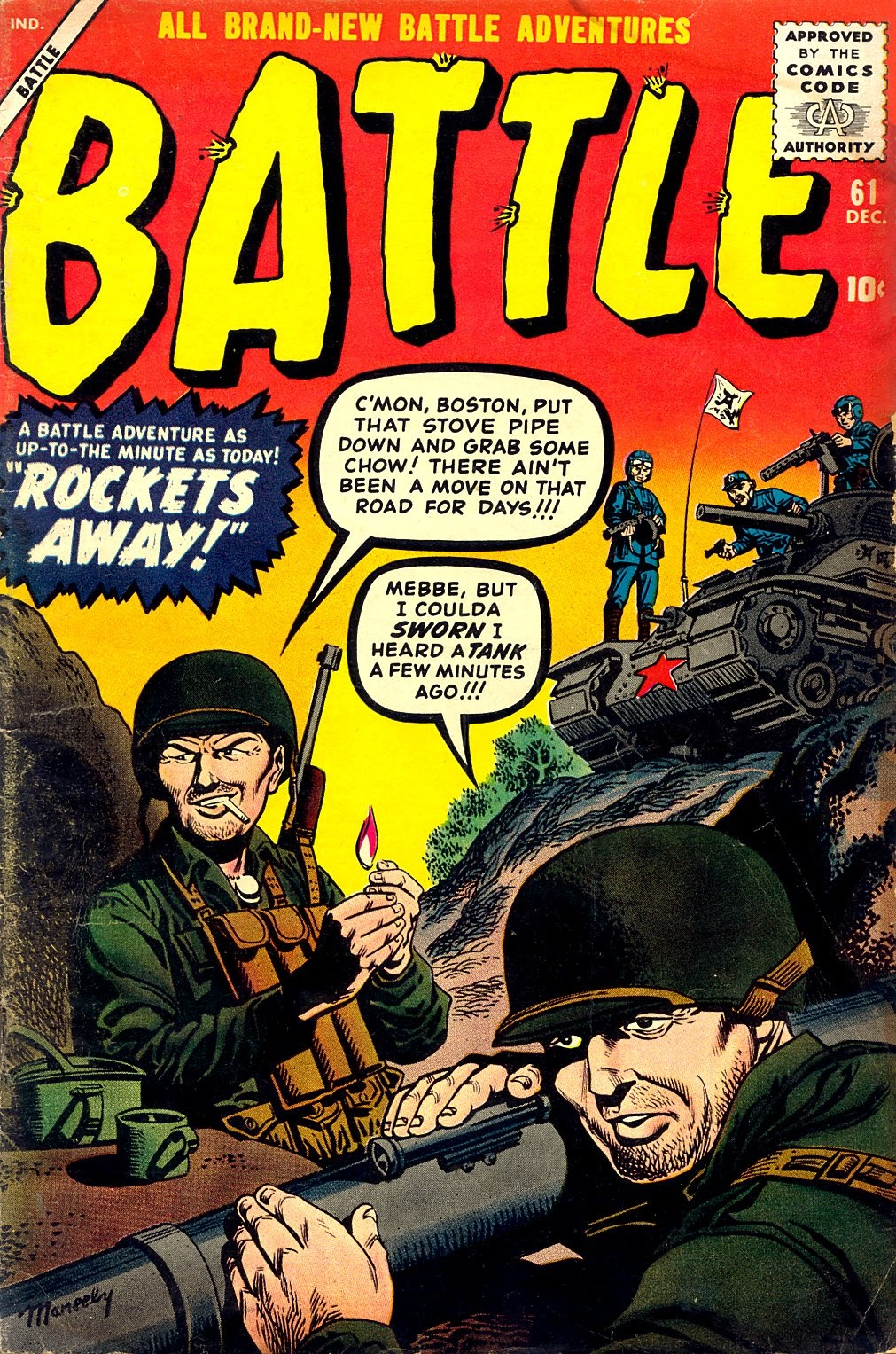 Battle issue 61 - Page 1