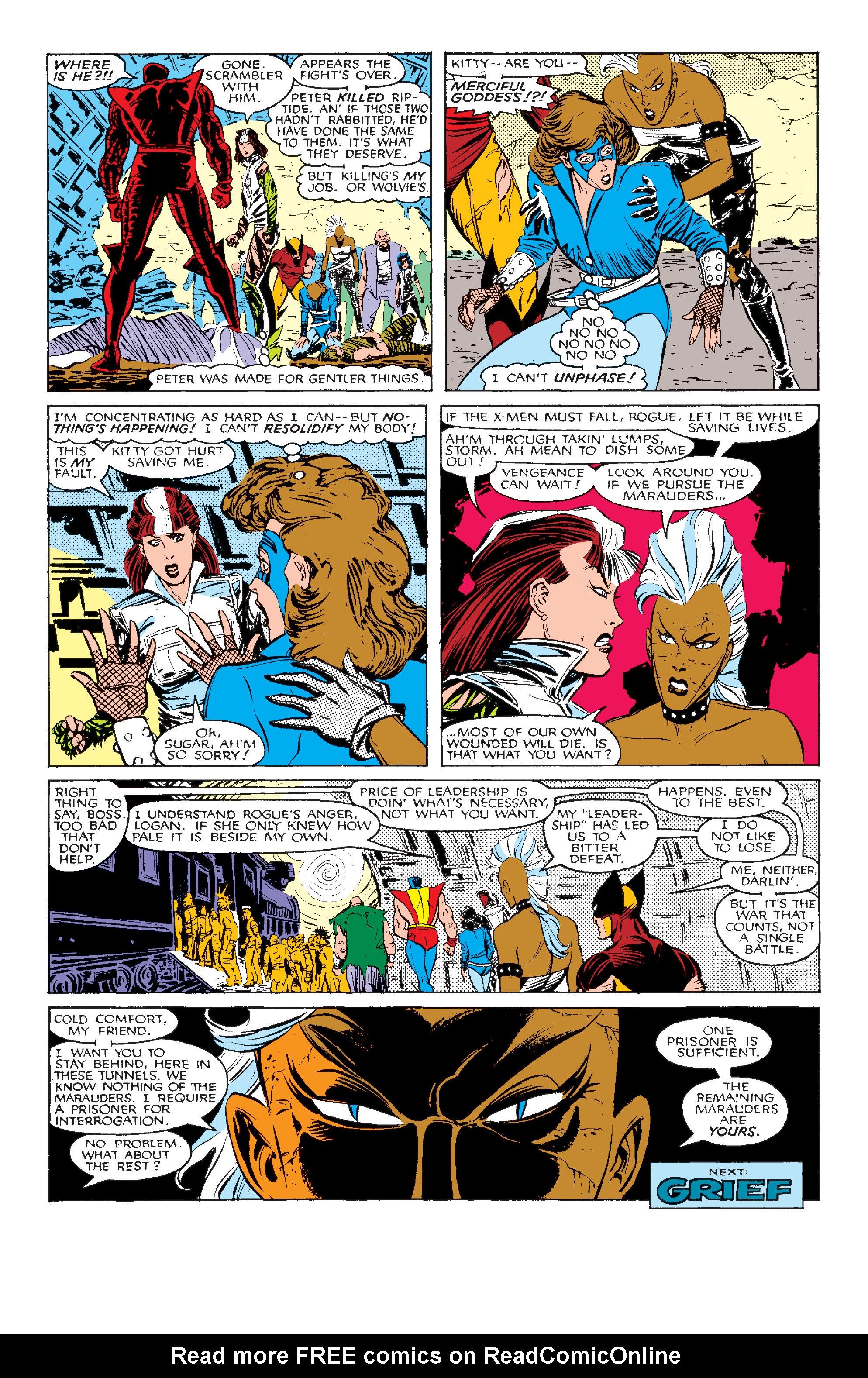 Read online Uncanny X-Men (1963) comic -  Issue #211 - 24