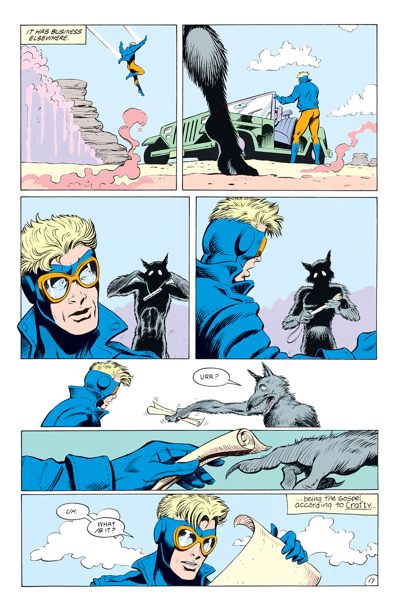 Read online Animal Man (1988) comic -  Issue #5 - 19
