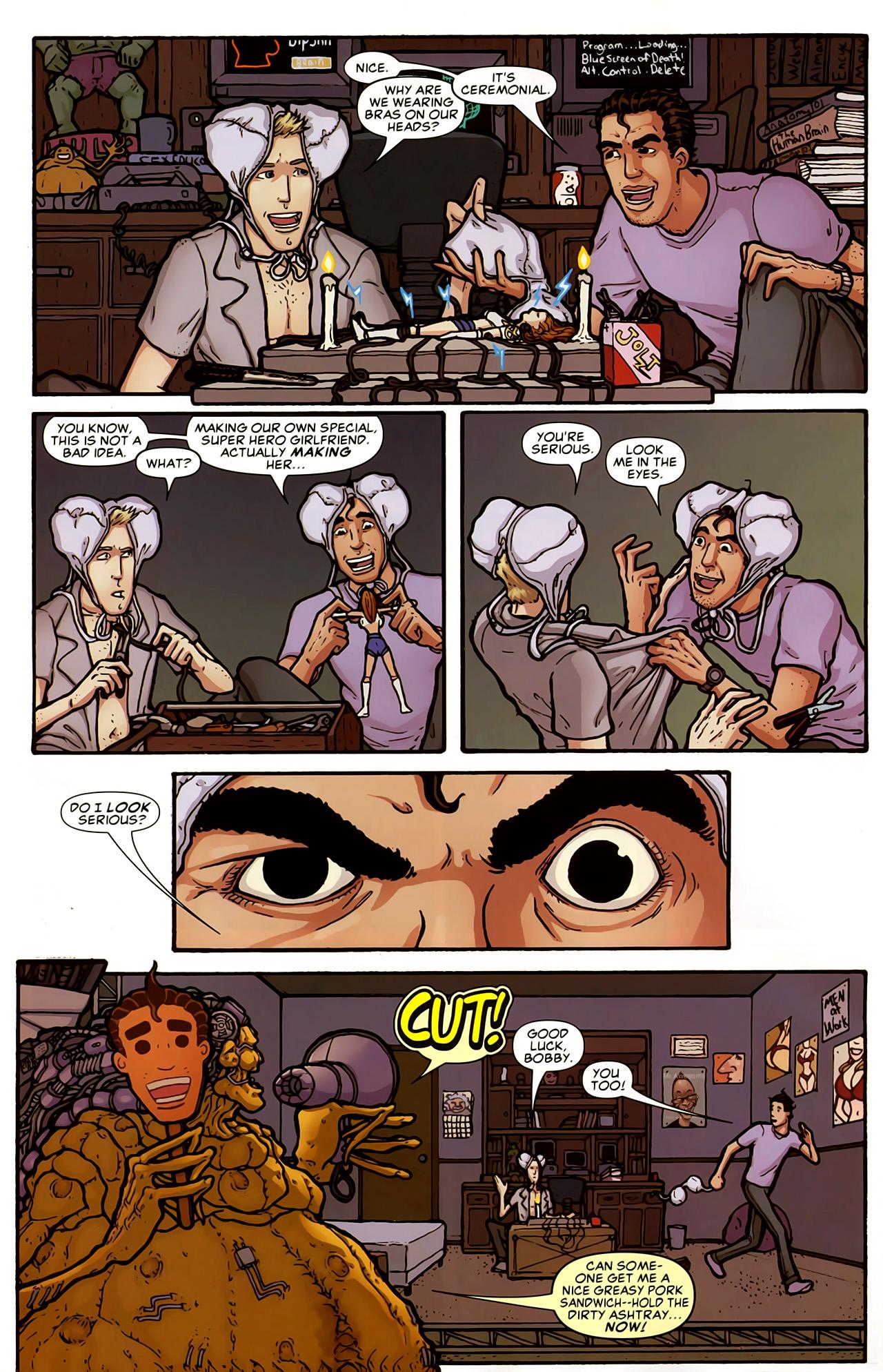Read online Astonishing Tales (2009) comic -  Issue #5 - 30