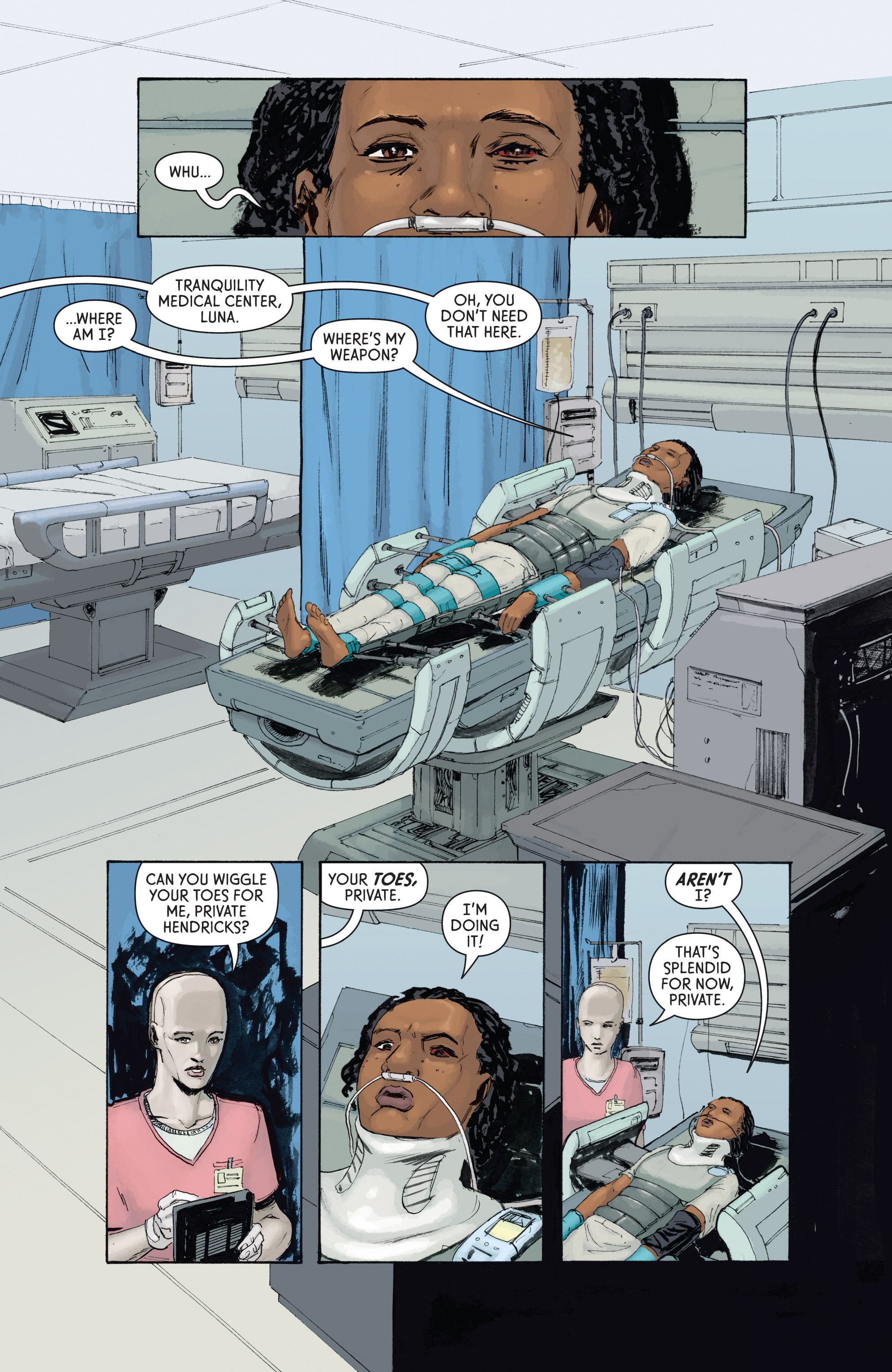 Read online Aliens: Defiance comic -  Issue #4 - 15