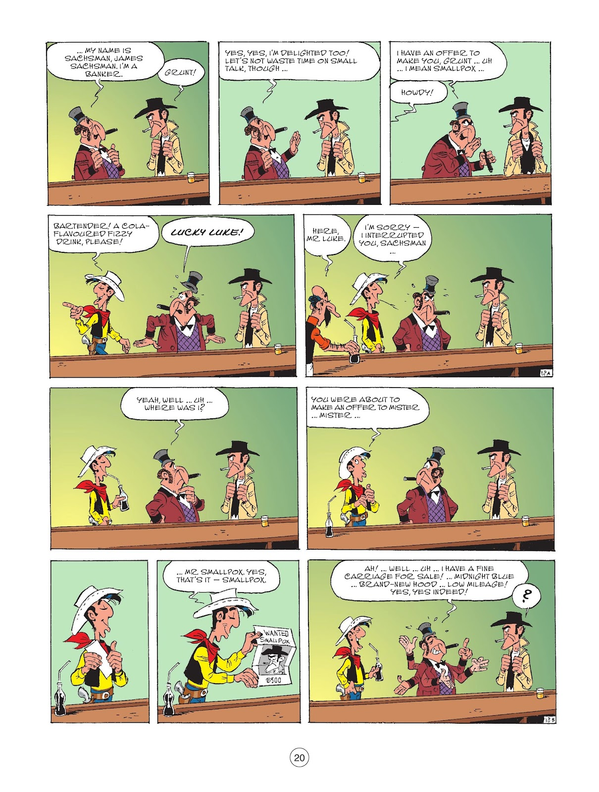 A Lucky Luke Adventure issue 72 - Page 22