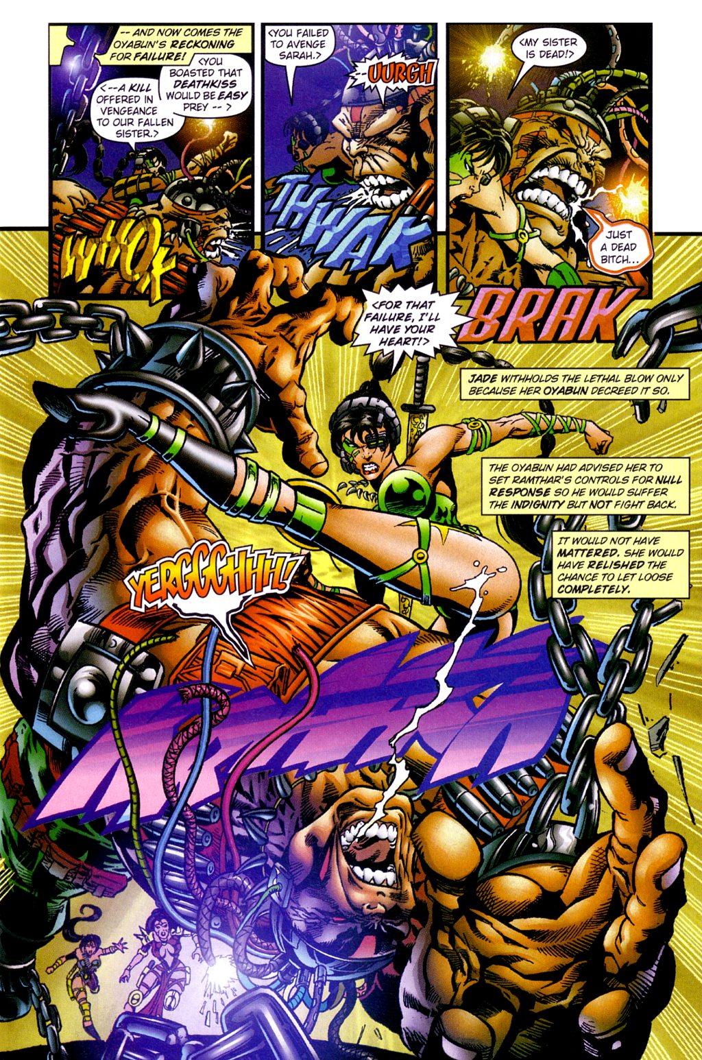 Read online Jade Warriors comic -  Issue #3 - 5
