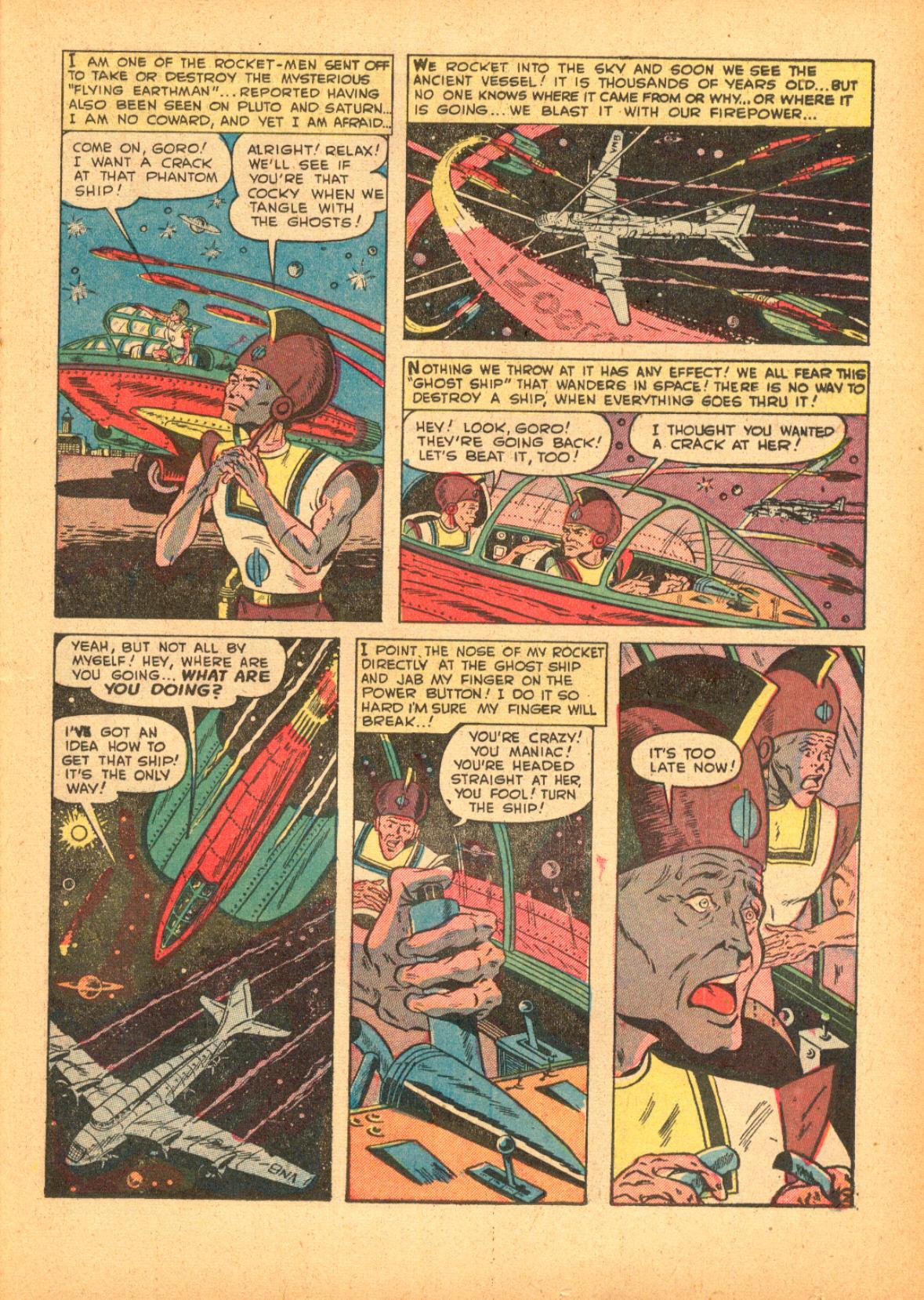 Read online Adventures into Weird Worlds comic -  Issue #3 - 23