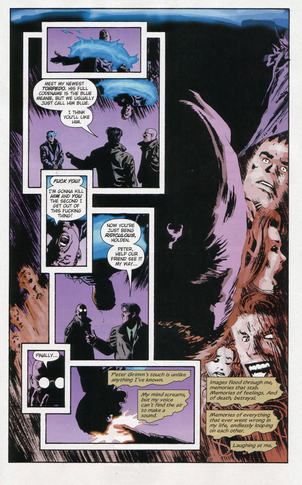 Read online Sleeper comic -  Issue #12 - 10