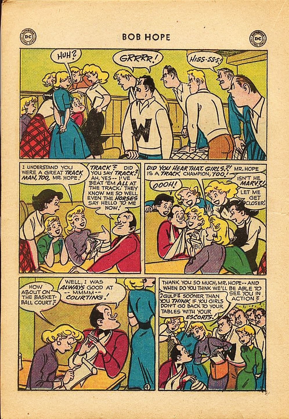 The Adventures of Bob Hope issue 42 - Page 16