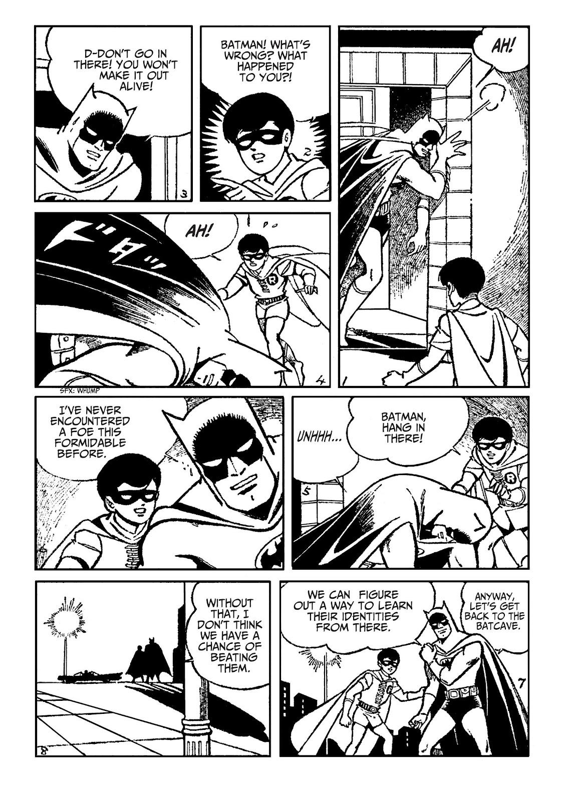 Read online Batman - The Jiro Kuwata Batmanga comic -  Issue #51 - 5