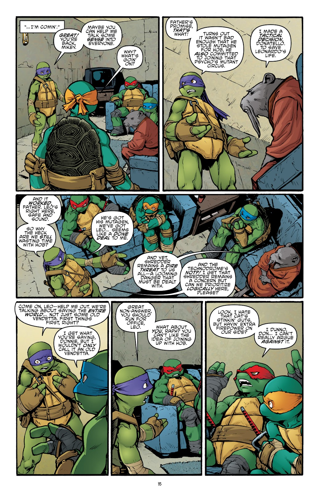 Read online Teenage Mutant Ninja Turtles: The IDW Collection comic -  Issue # TPB 5 (Part 2) - 11