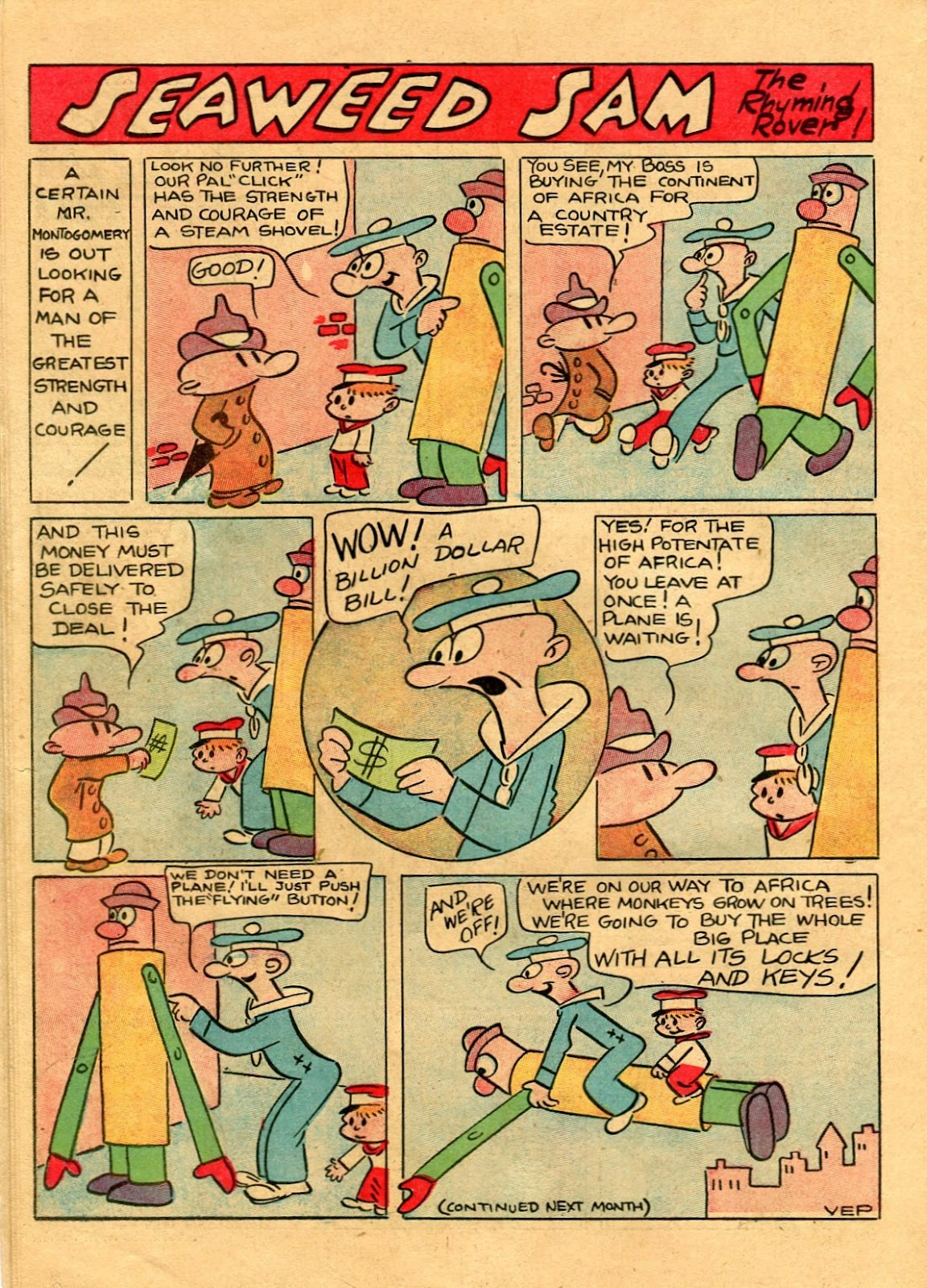 Read online Famous Funnies comic -  Issue #56 - 42