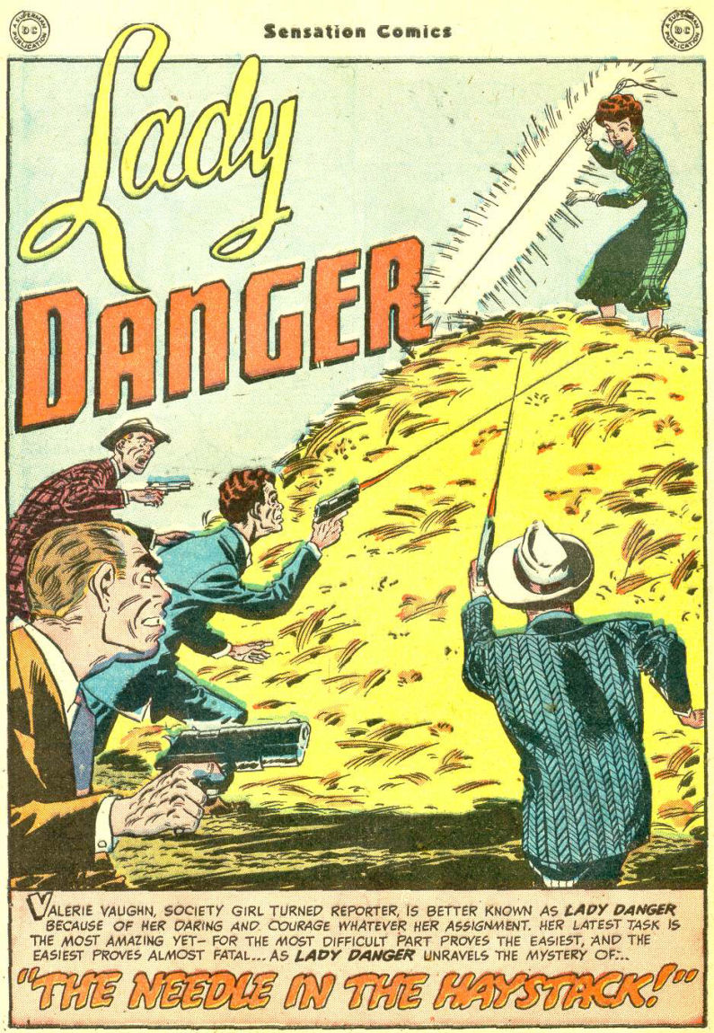 Read online Sensation (Mystery) Comics comic -  Issue #87 - 40