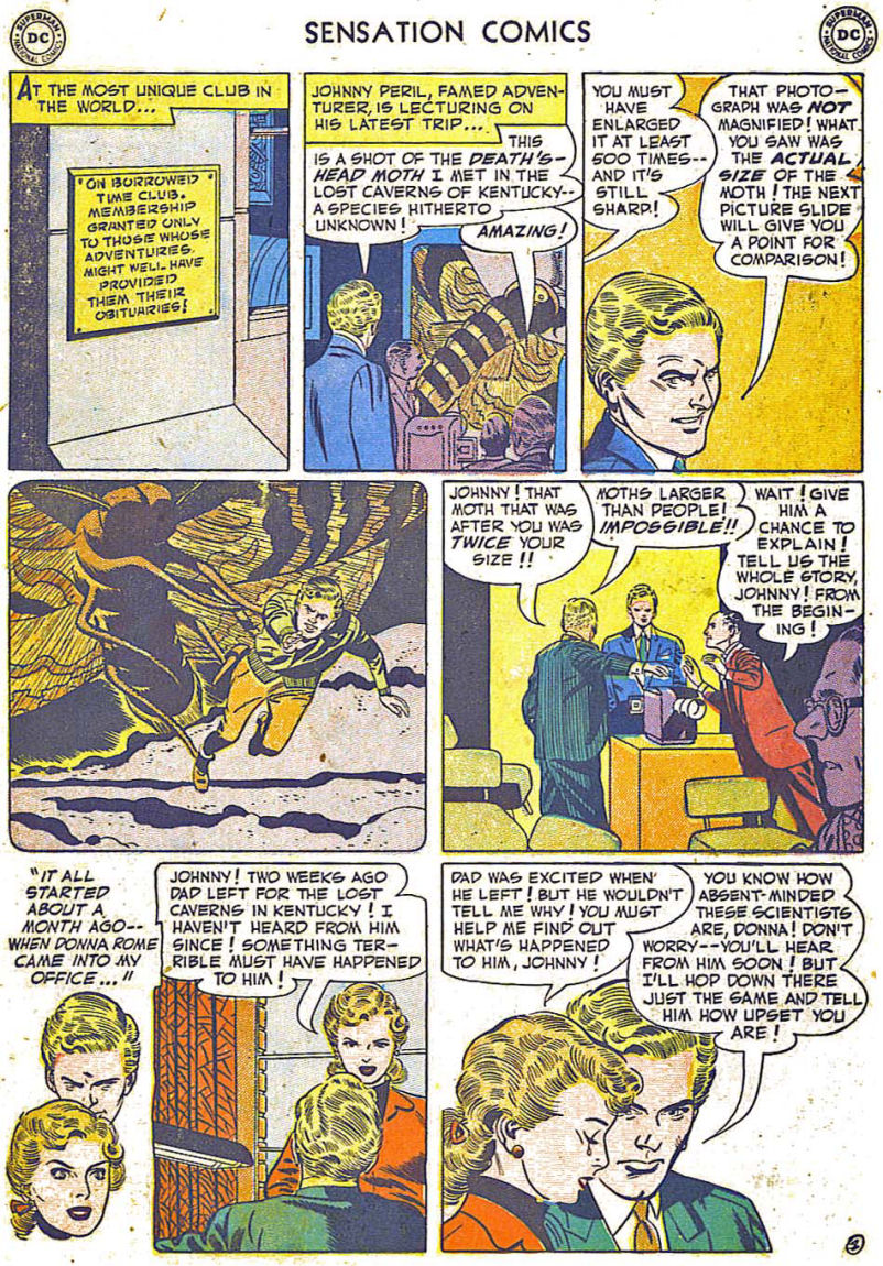 Read online Sensation (Mystery) Comics comic -  Issue #108 - 14