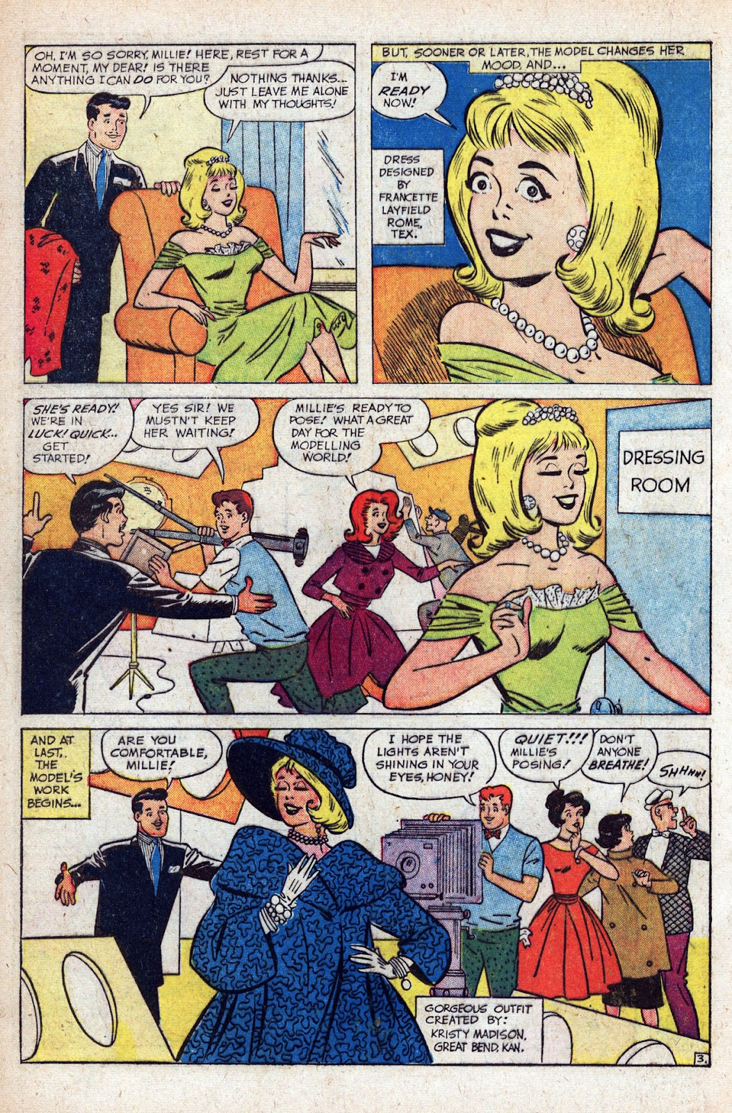 Read online Millie the Model comic -  Issue # Annual 1 - 34
