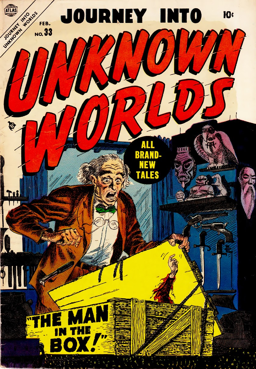Journey Into Unknown Worlds (1950) issue 33 - Page 1