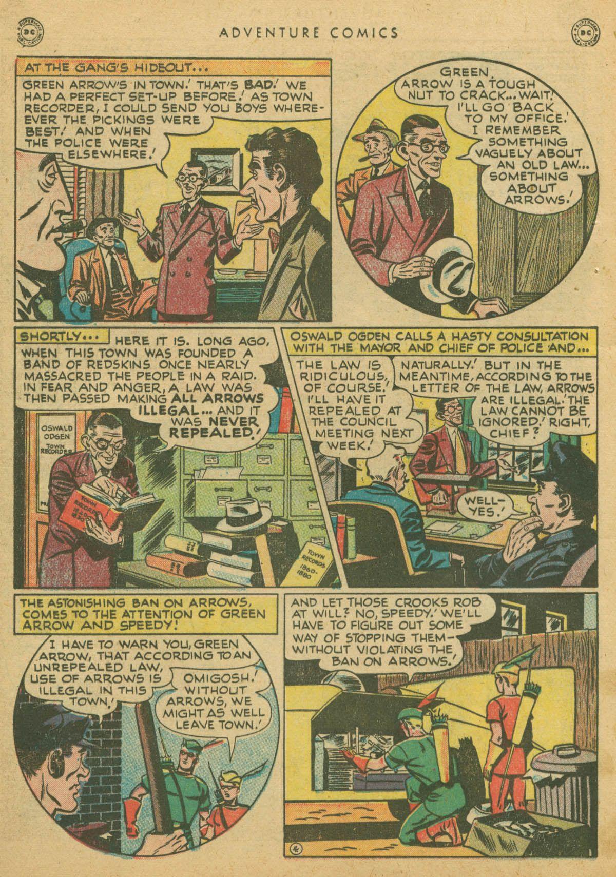 Read online Adventure Comics (1938) comic -  Issue #142 - 17