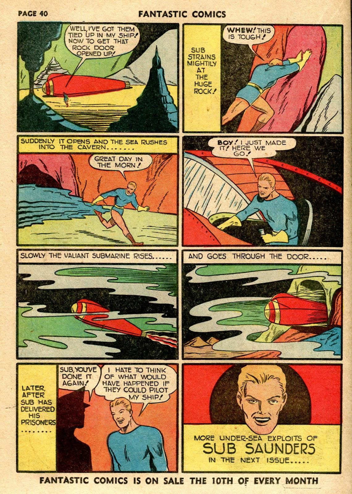 Read online Fantastic Comics comic -  Issue #21 - 38