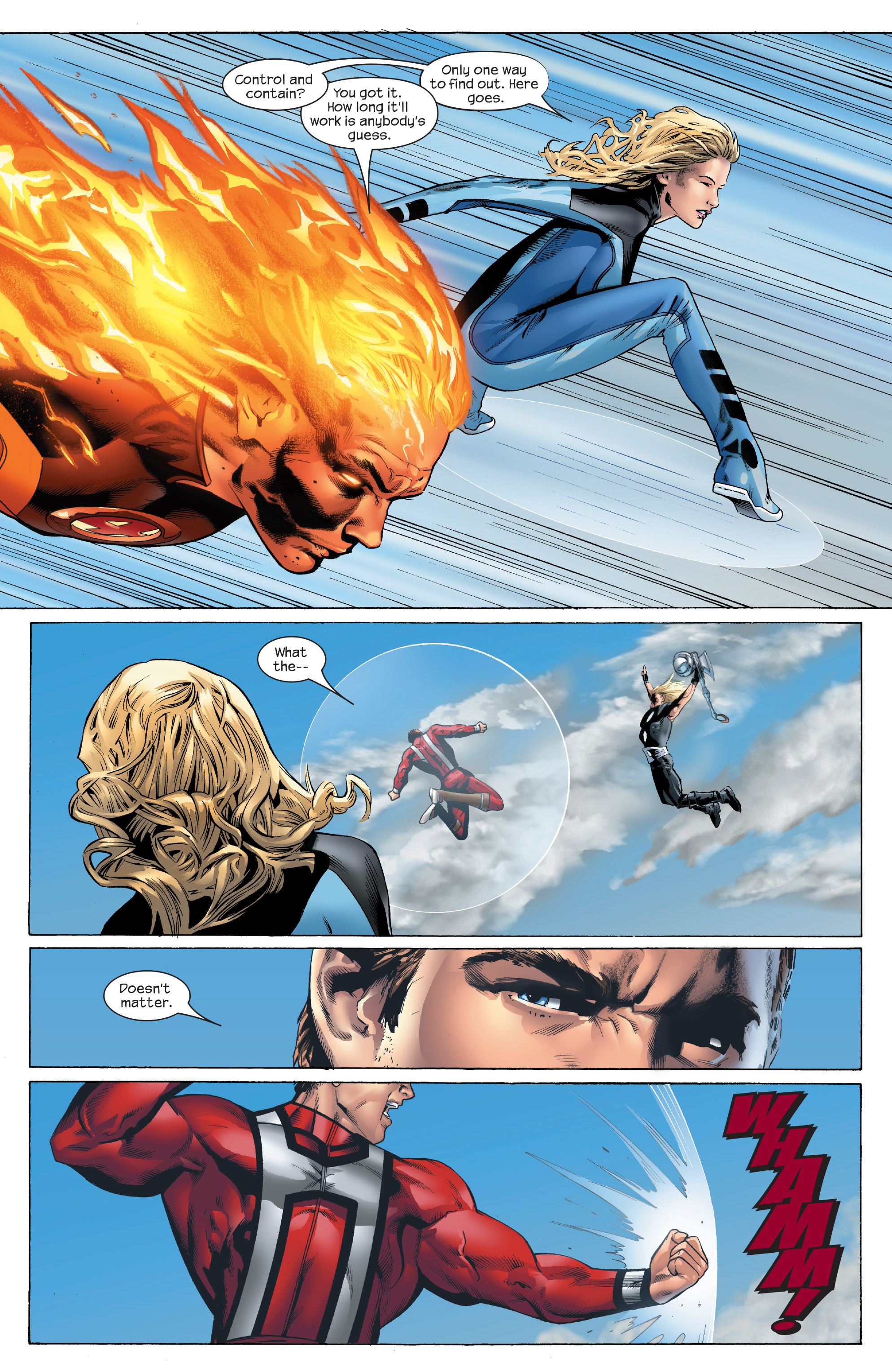 Read online Ultimate Power comic -  Issue #5 - 9
