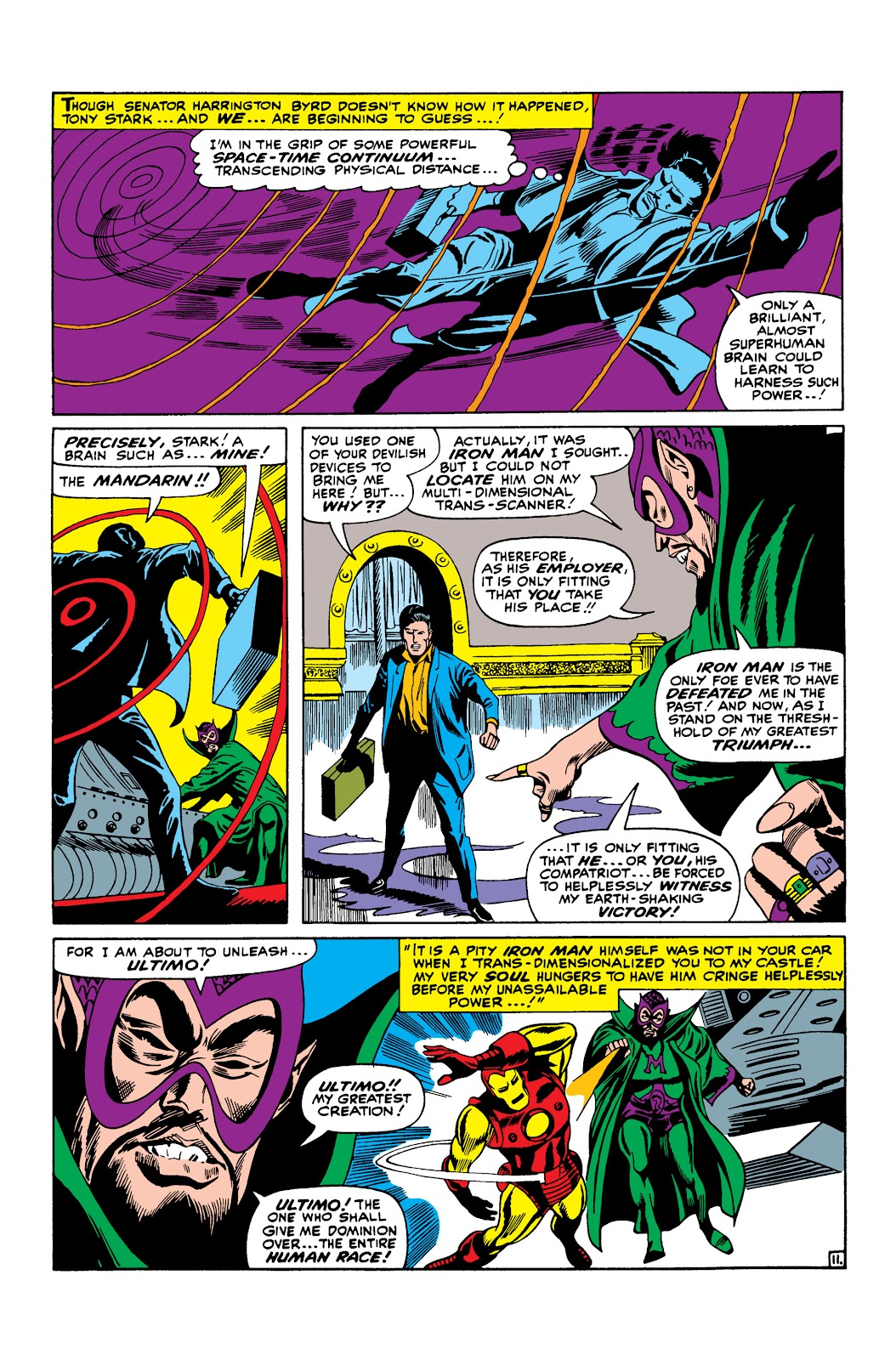 Read online Marvel Masterworks: The Invincible Iron Man comic -  Issue # TPB 3 (Part 3) - 44