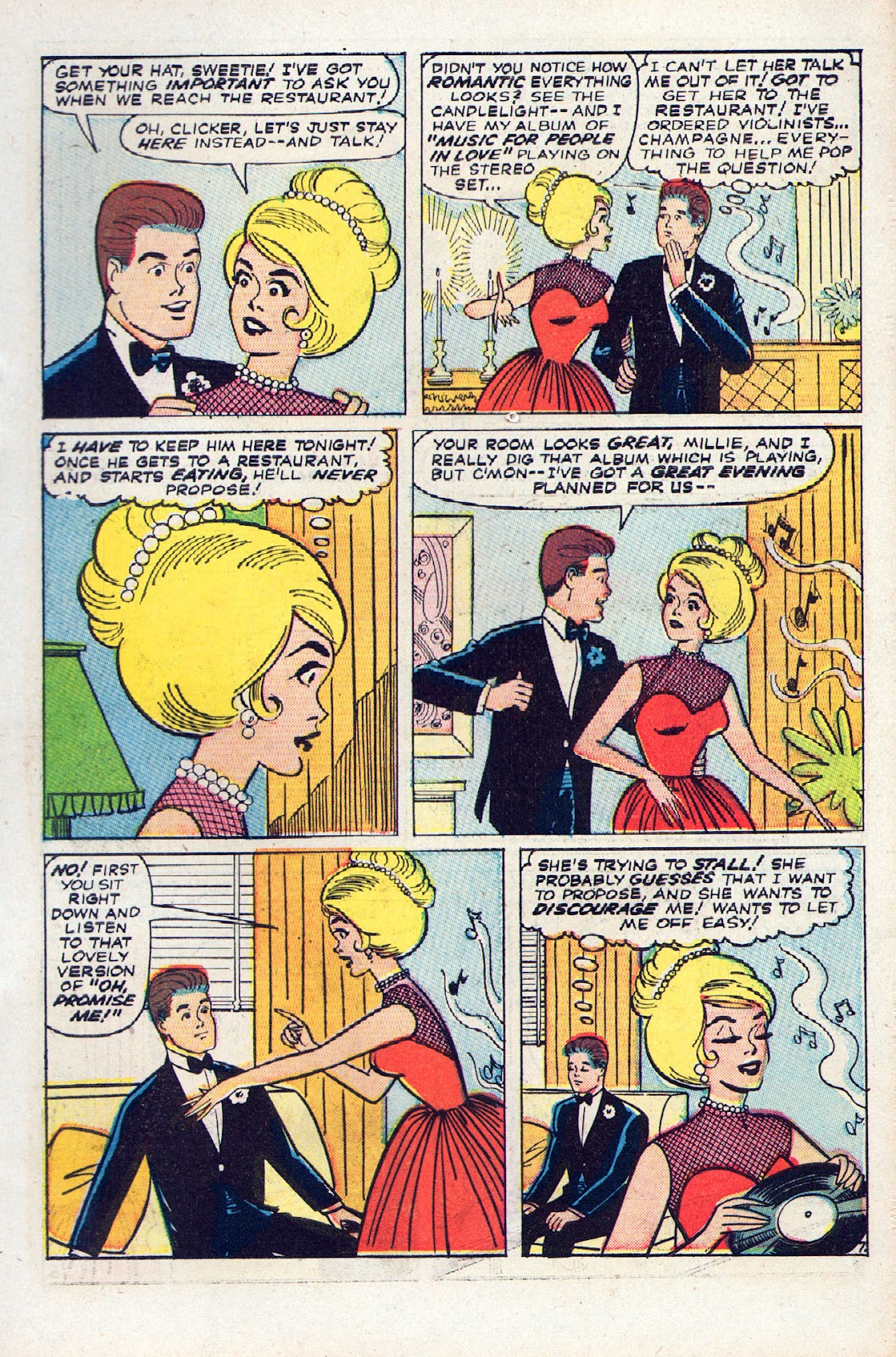Read online Millie the Model comic -  Issue # Annual 2 - 9