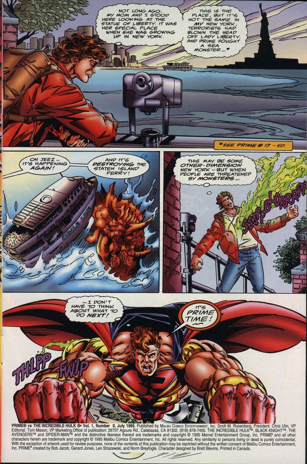 Read online Prime Vs. The Incredible Hulk comic -  Issue # Full - 4
