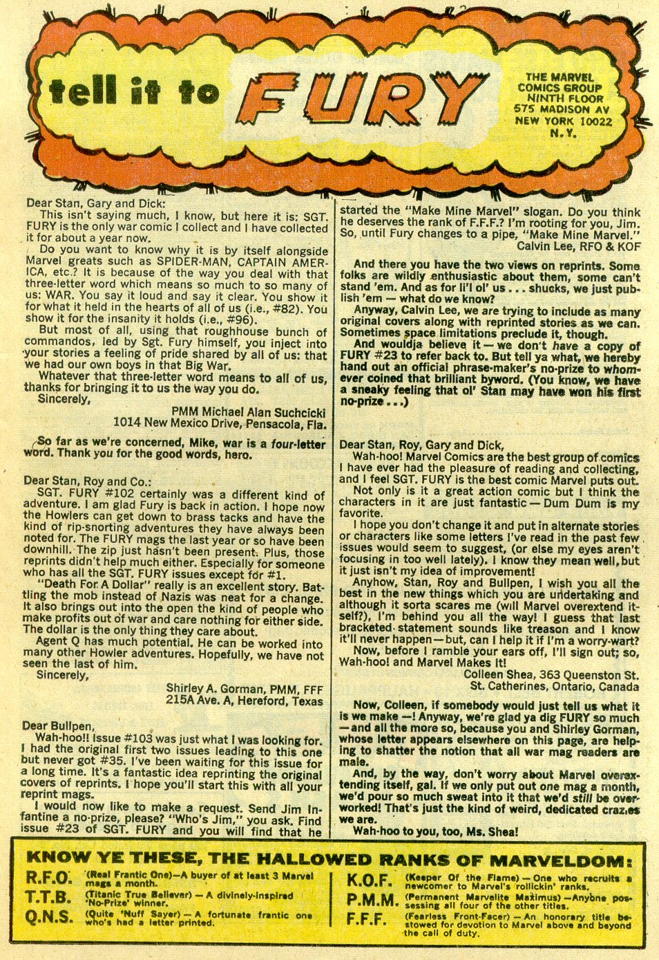 Read online Sgt. Fury comic -  Issue #107 - 25
