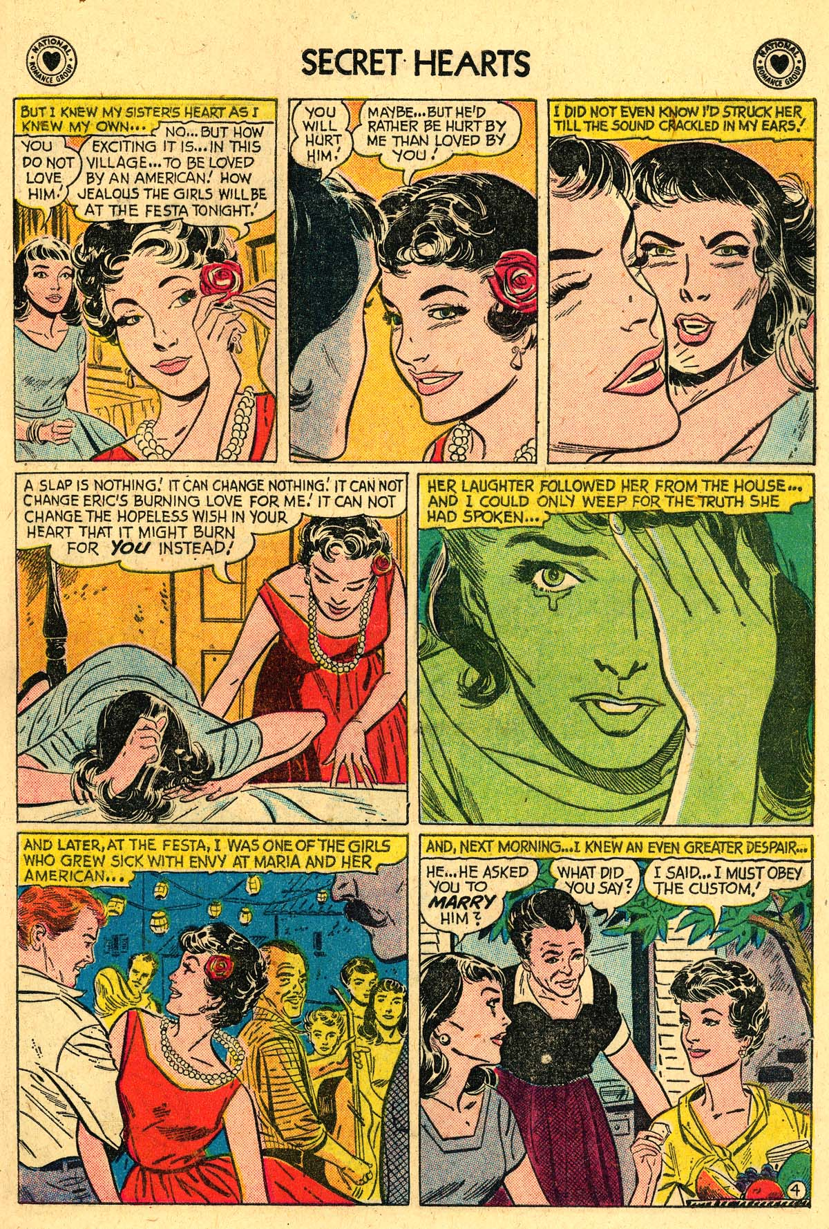 Read online Secret Hearts comic -  Issue #57 - 21