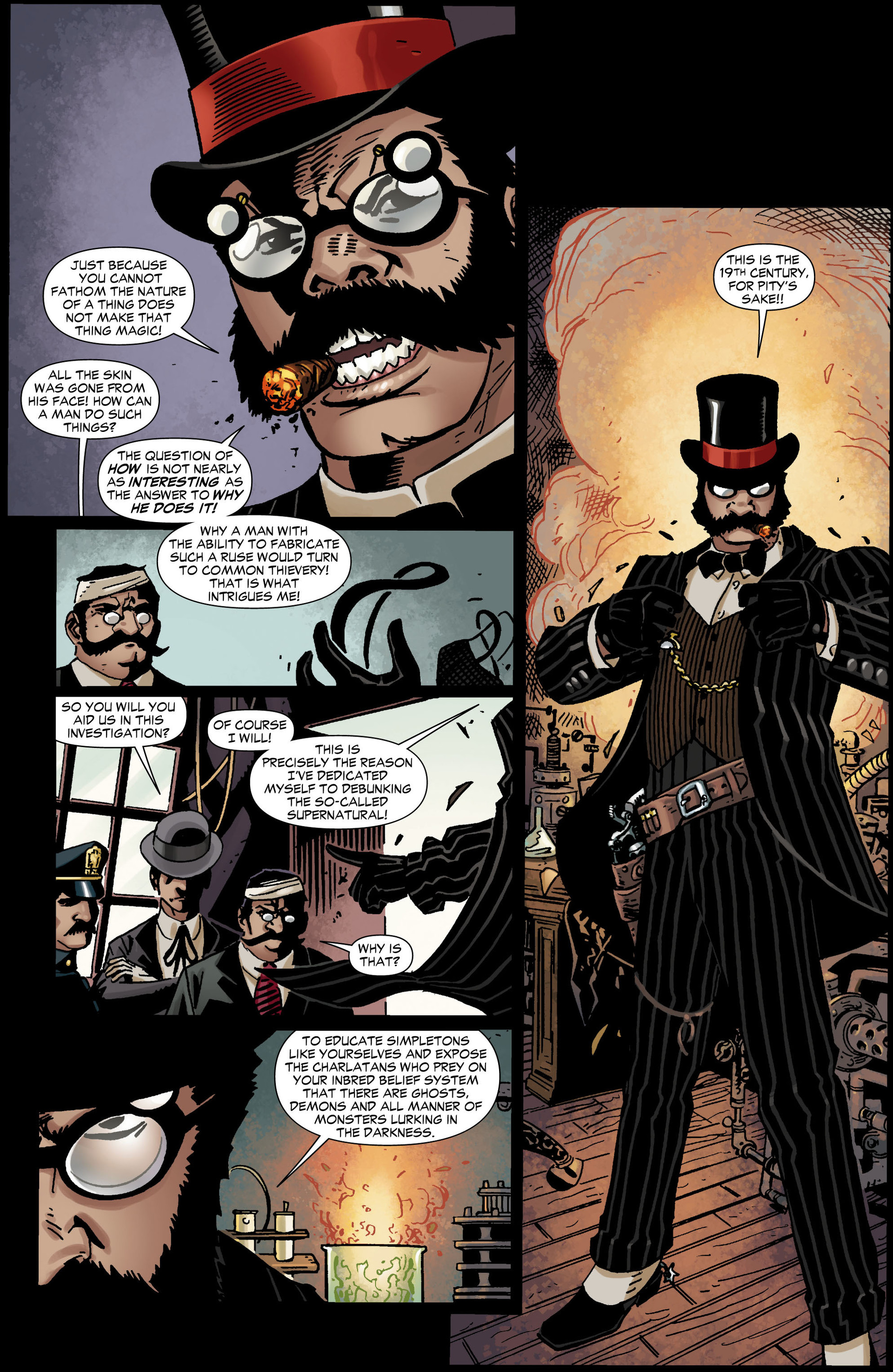 Read online All-Star Western (2011) comic -  Issue #11 - 26