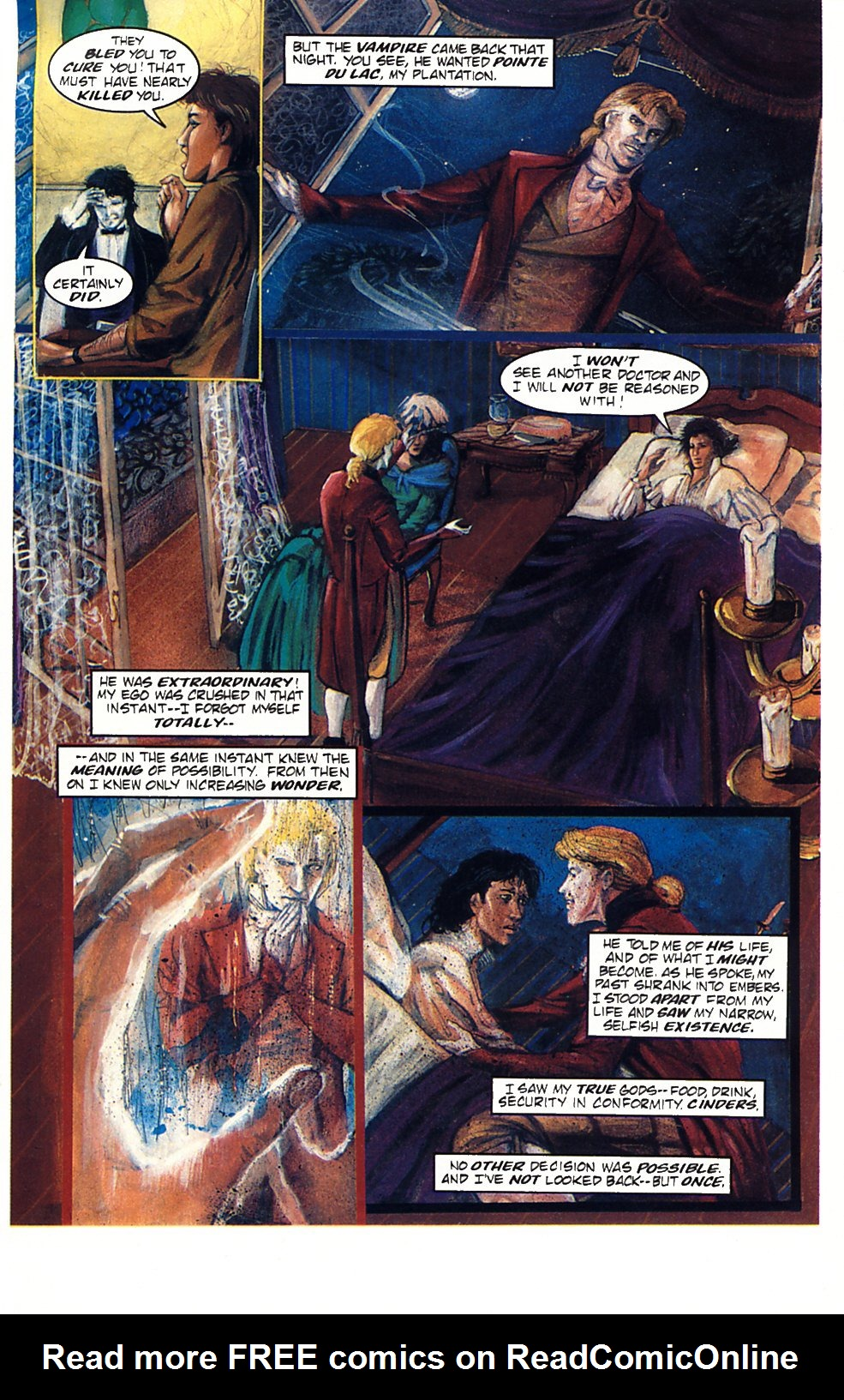 Read online Anne Rice's Interview with the Vampire comic -  Issue #1 - 13