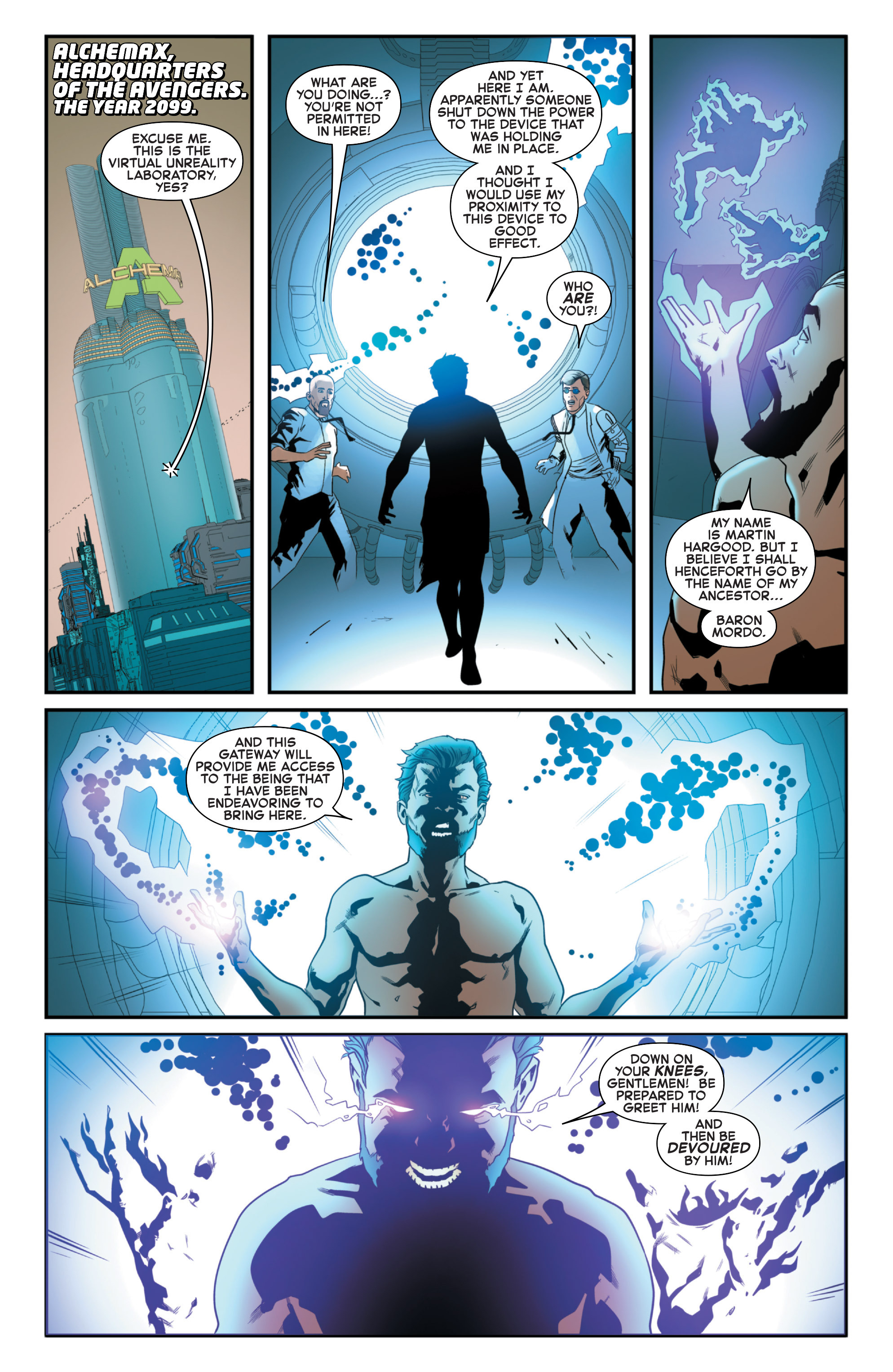 Read online Secret Wars 2099 comic -  Issue #5 - 3