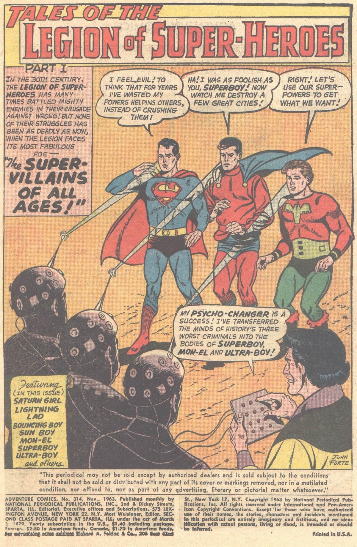 Read online Adventure Comics (1938) comic -  Issue #314 - 3