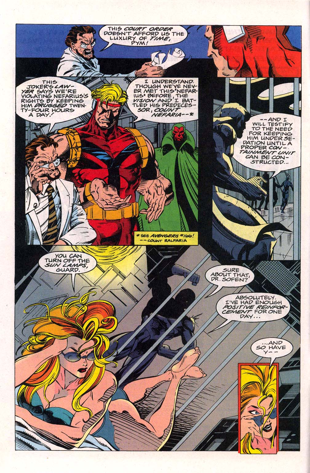 Avengers Unplugged issue 1 - Page 3