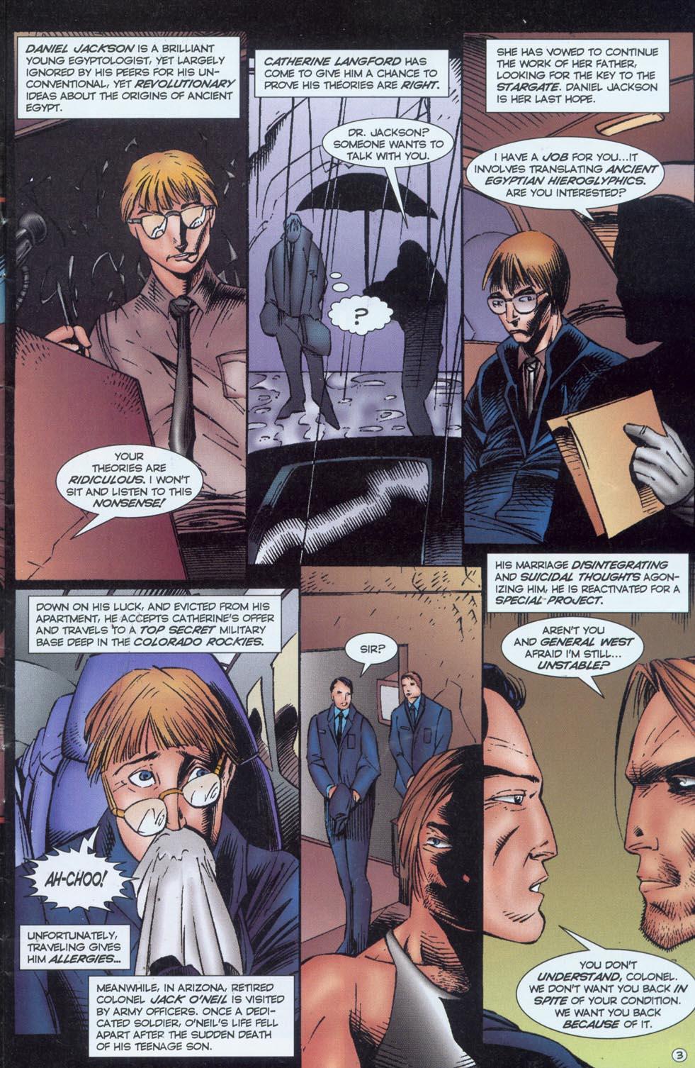 Read online Stargate comic -  Issue #1 - 5