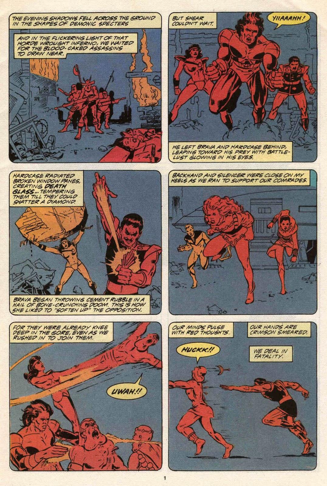 Strikeforce: Morituri 21 Page 3