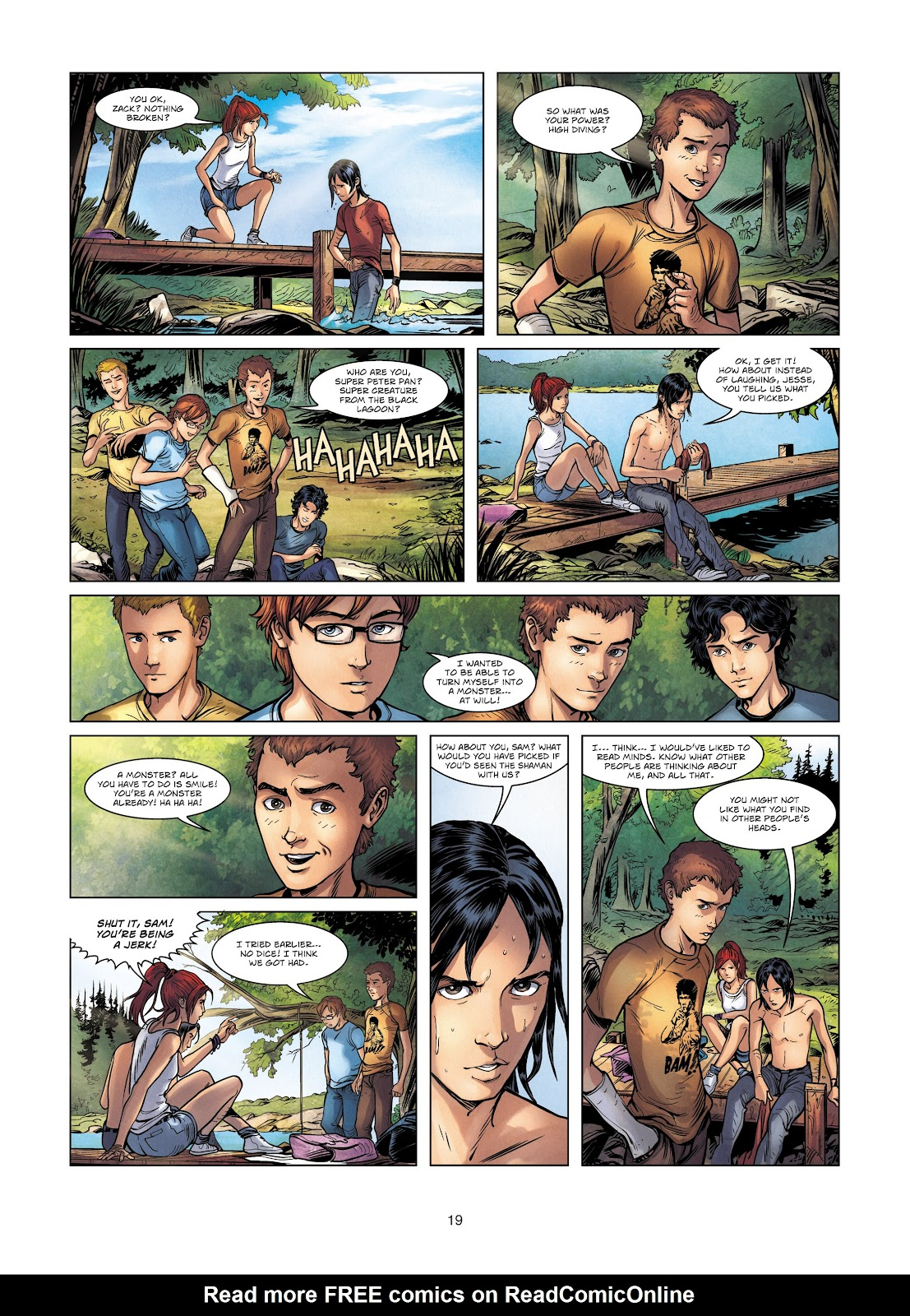 Read online Vigilantes comic -  Issue #2 - 19
