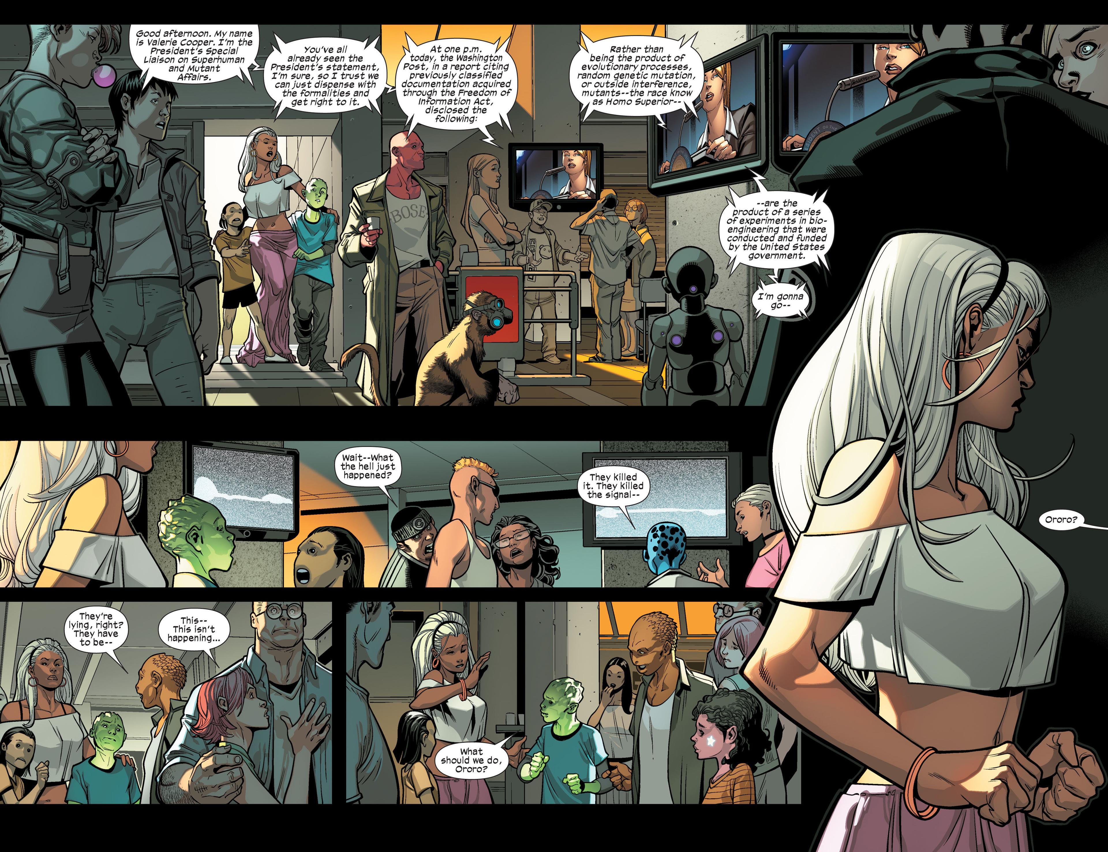 Read online Ultimate Comics X-Men comic -  Issue #9 - 13