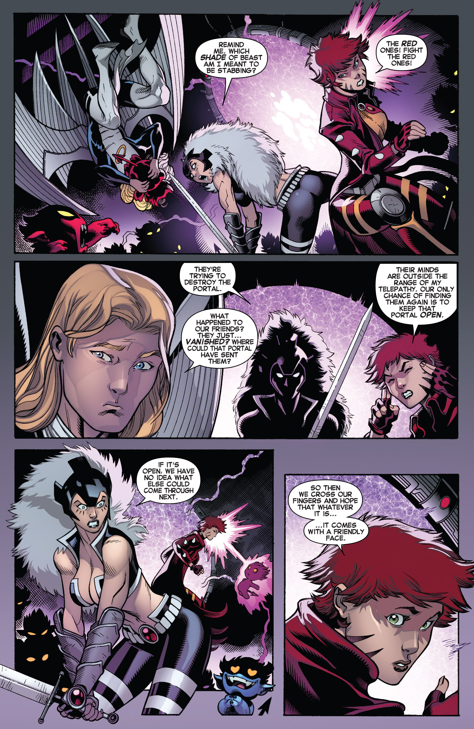 Read online Amazing X-Men (2014) comic -  Issue #5 - 4