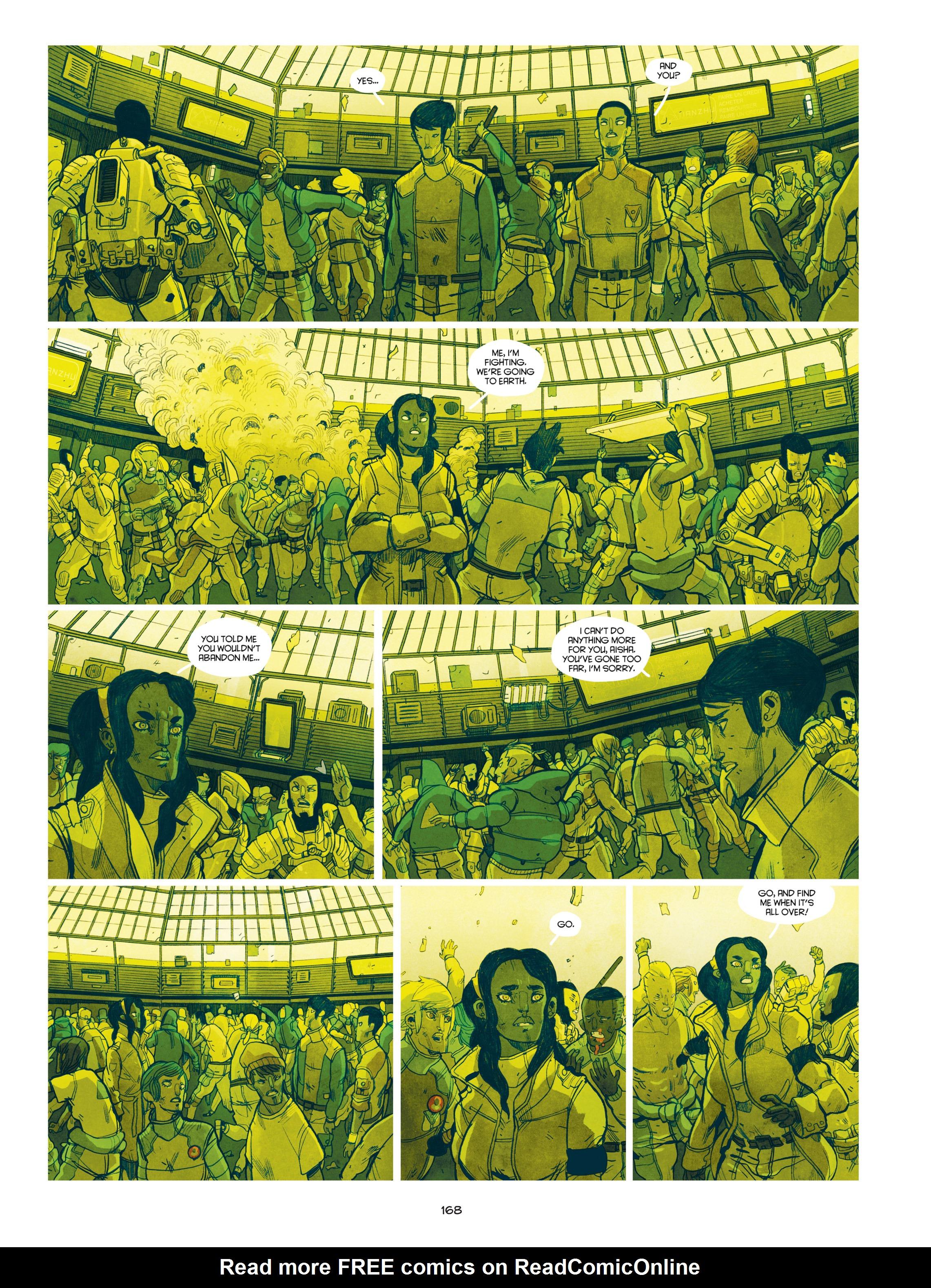 Read online Shangri-La comic -  Issue # Full - 169