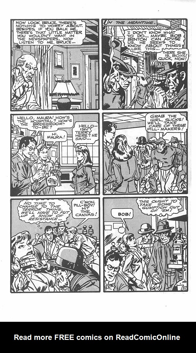 Read online Golden-Age Men of Mystery comic -  Issue #2 - 23