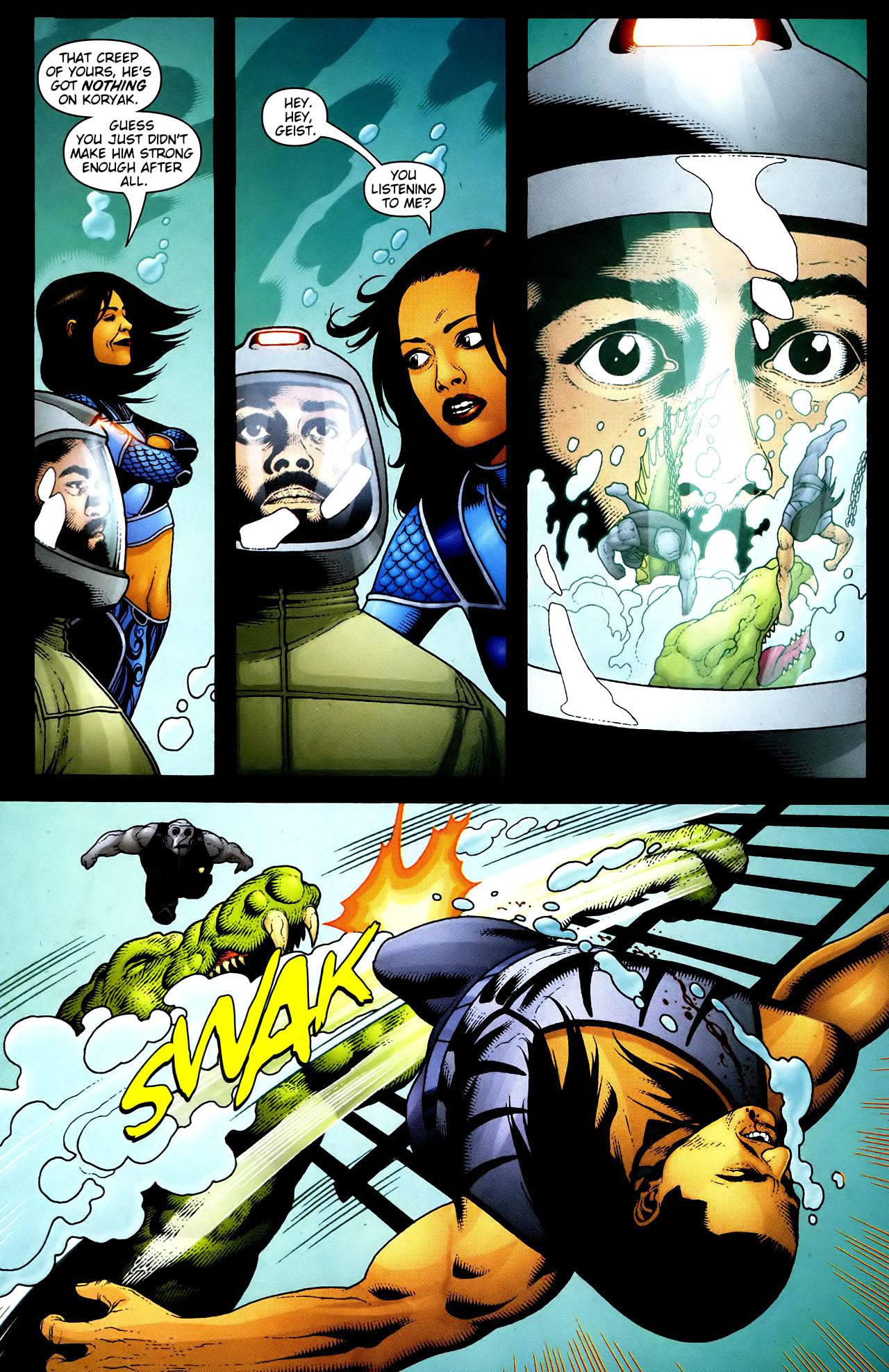 Read online Aquaman (2003) comic -  Issue #34 - 18